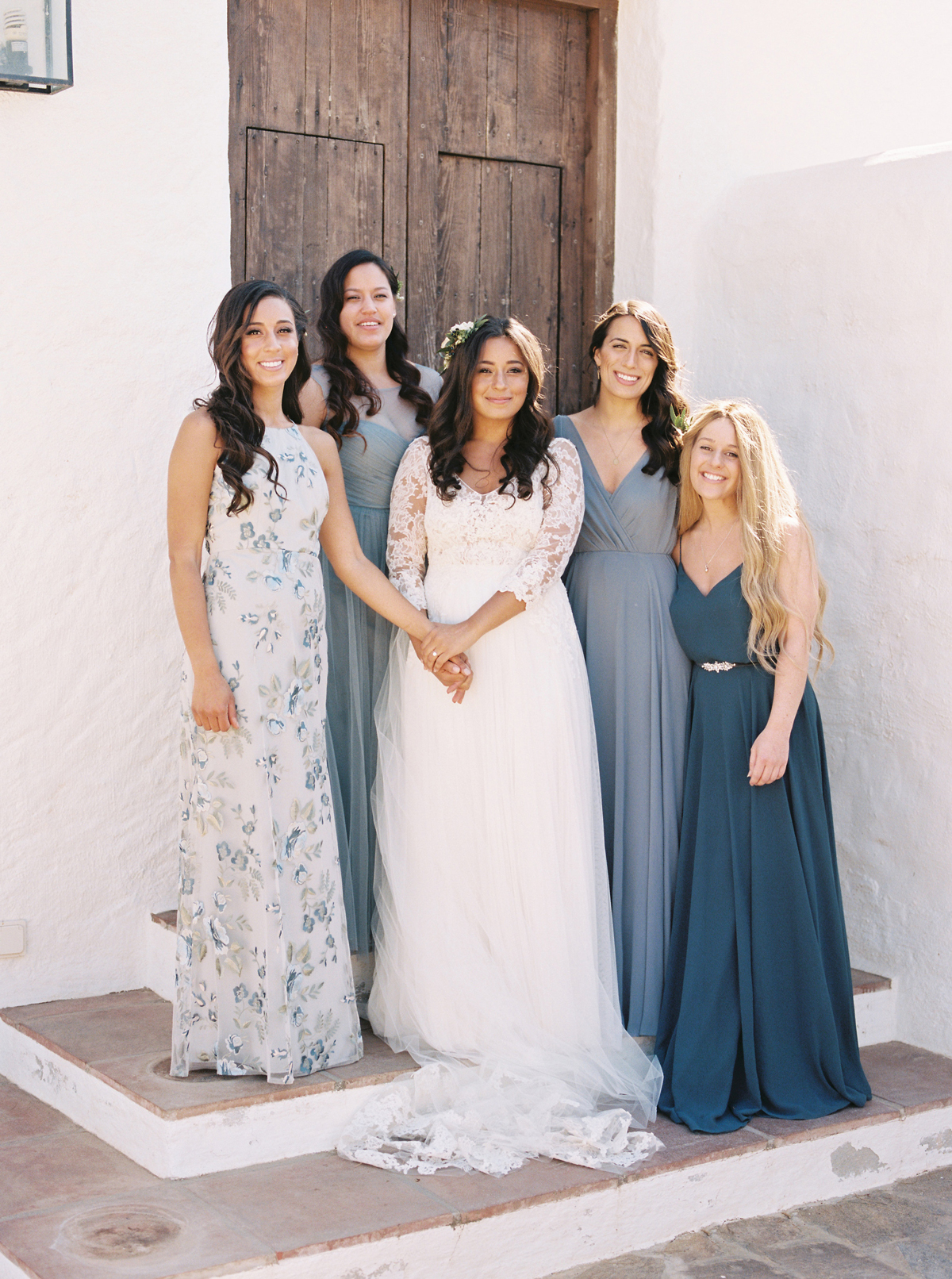 Should Your Bridesmaids' Gowns Be as Formal as Your Wedding Dress?