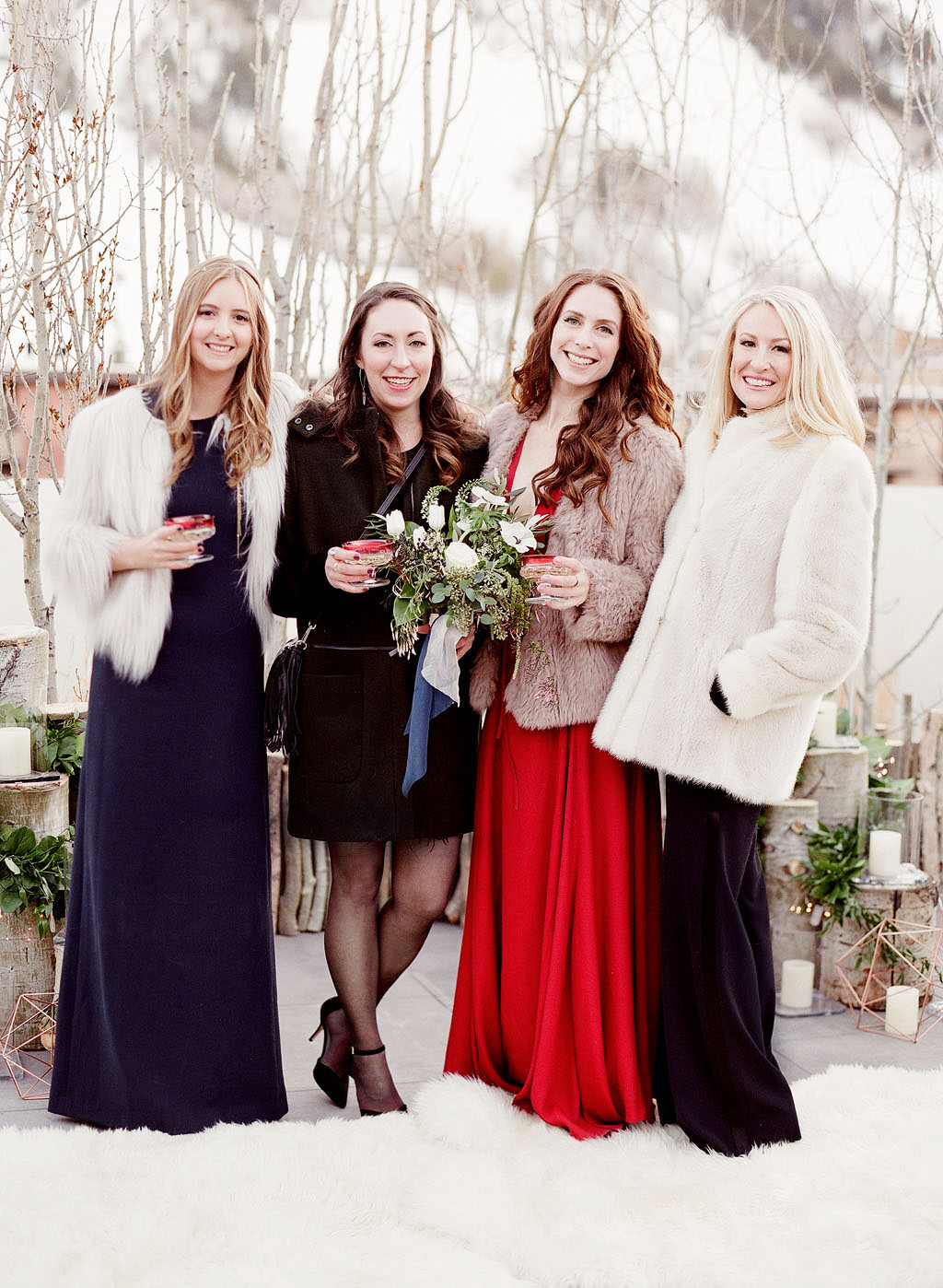 For the Guests What to Wear to a Winter Wedding