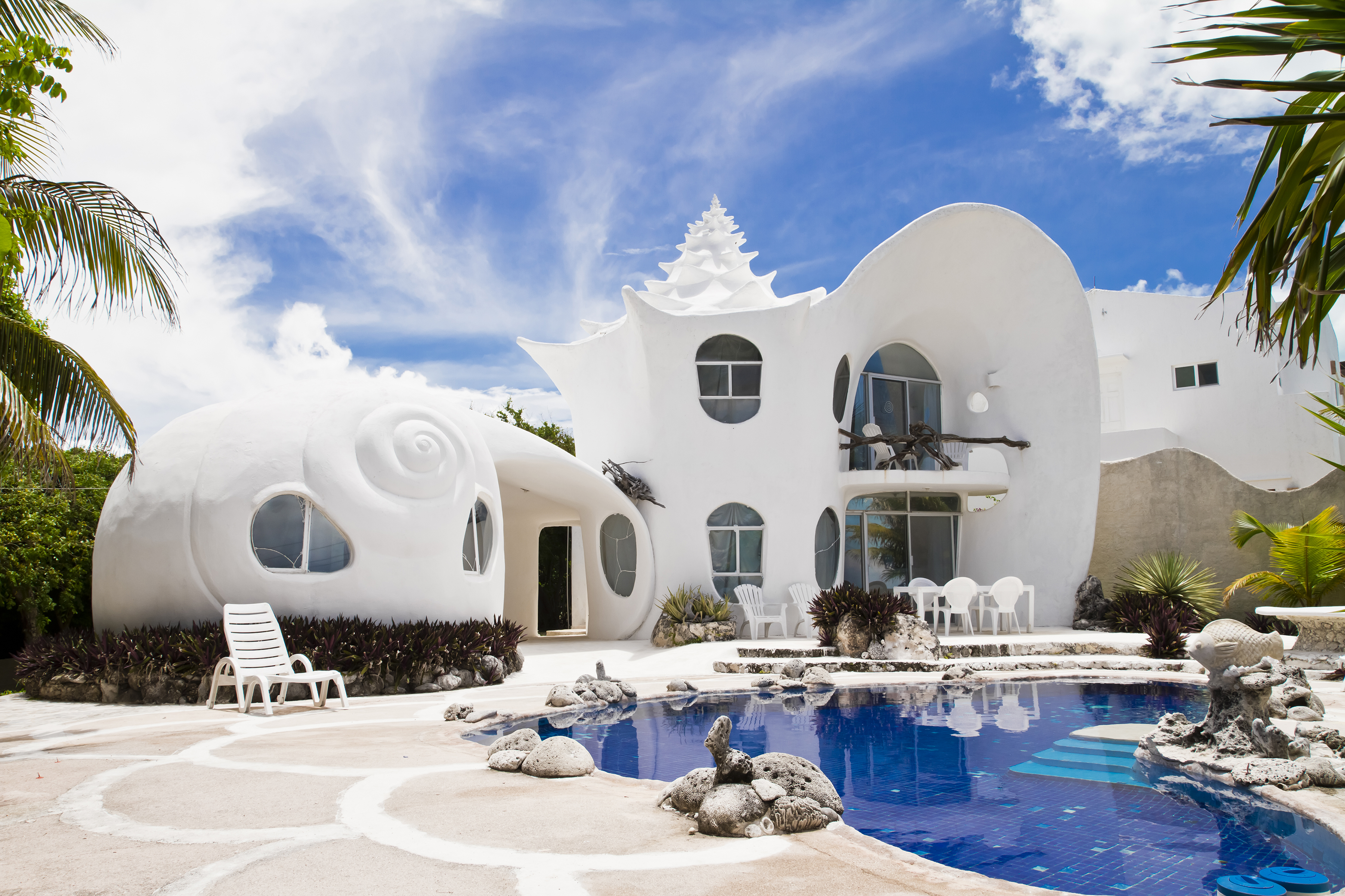 shell shaped airbnb mujeres mexico