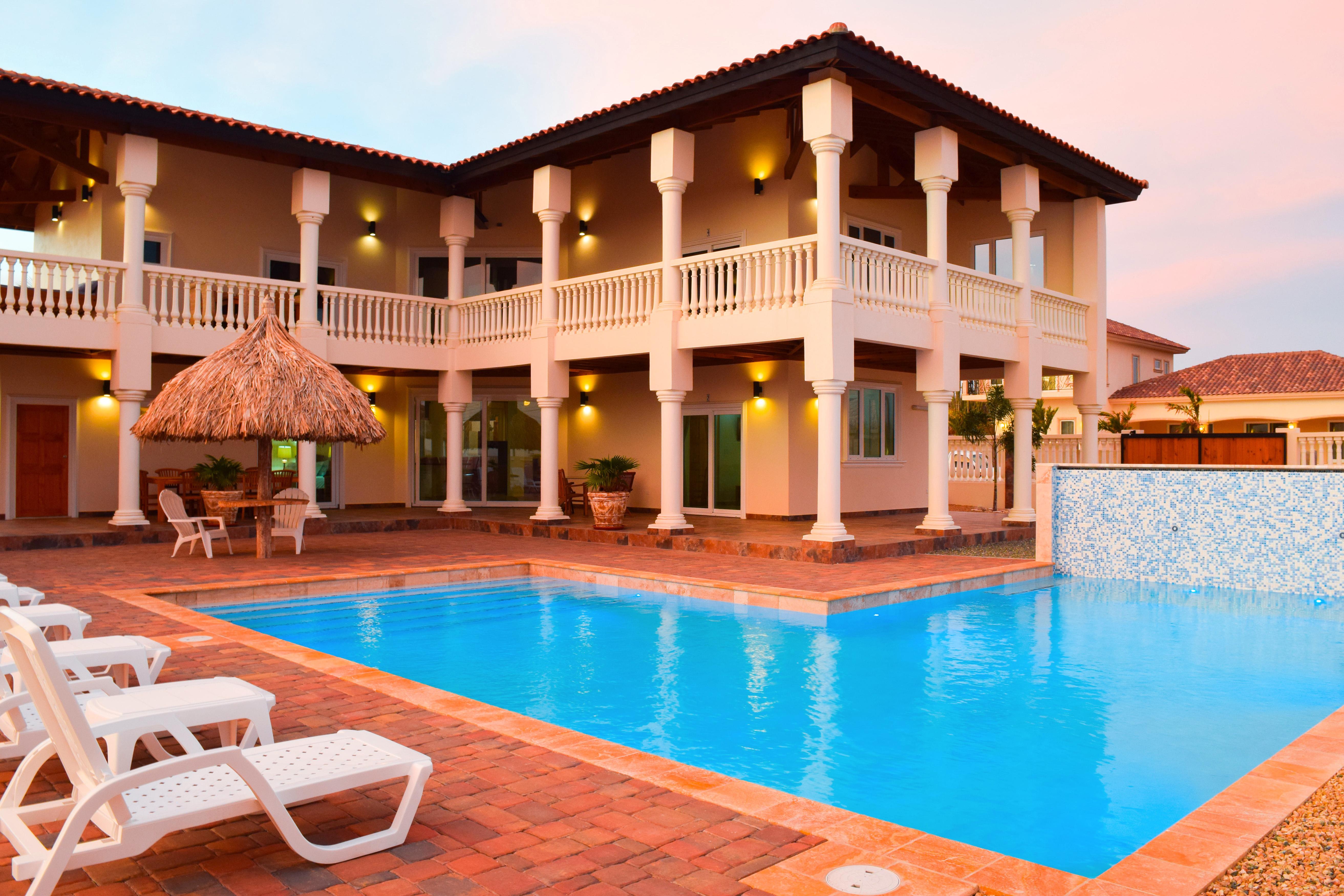 aruba private villa airbnb