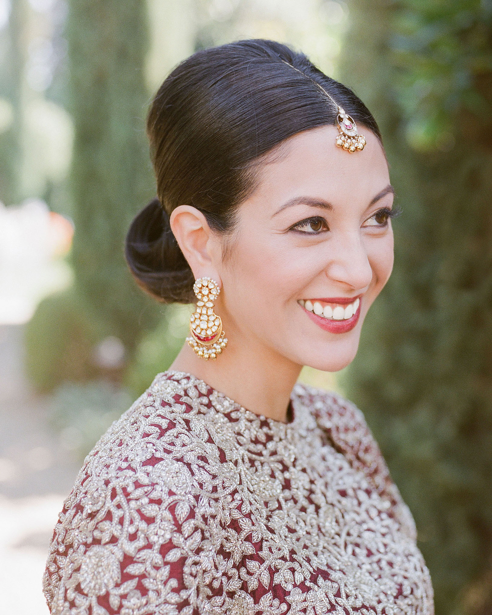 jenna alok wedding wine country california bride smiling