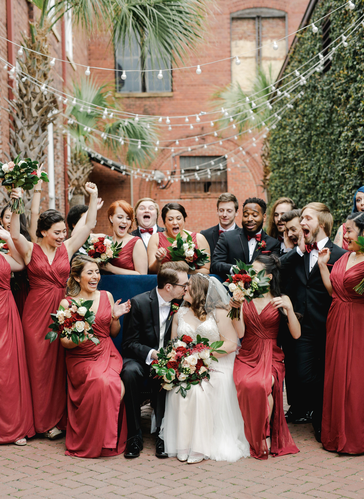 A Chic, Rustic Winter Wedding in South Carolina