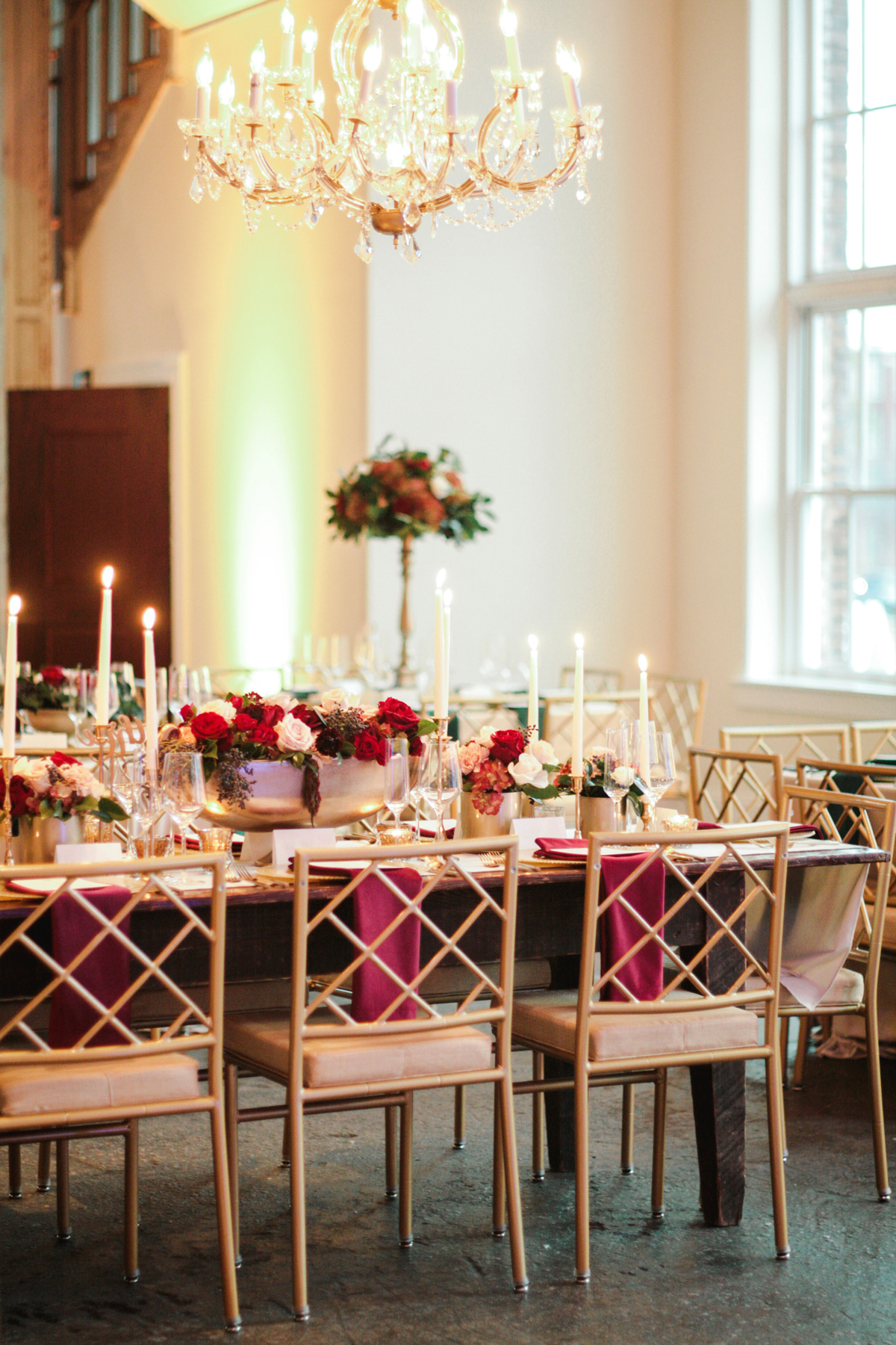 A Rustic-Chic Reception