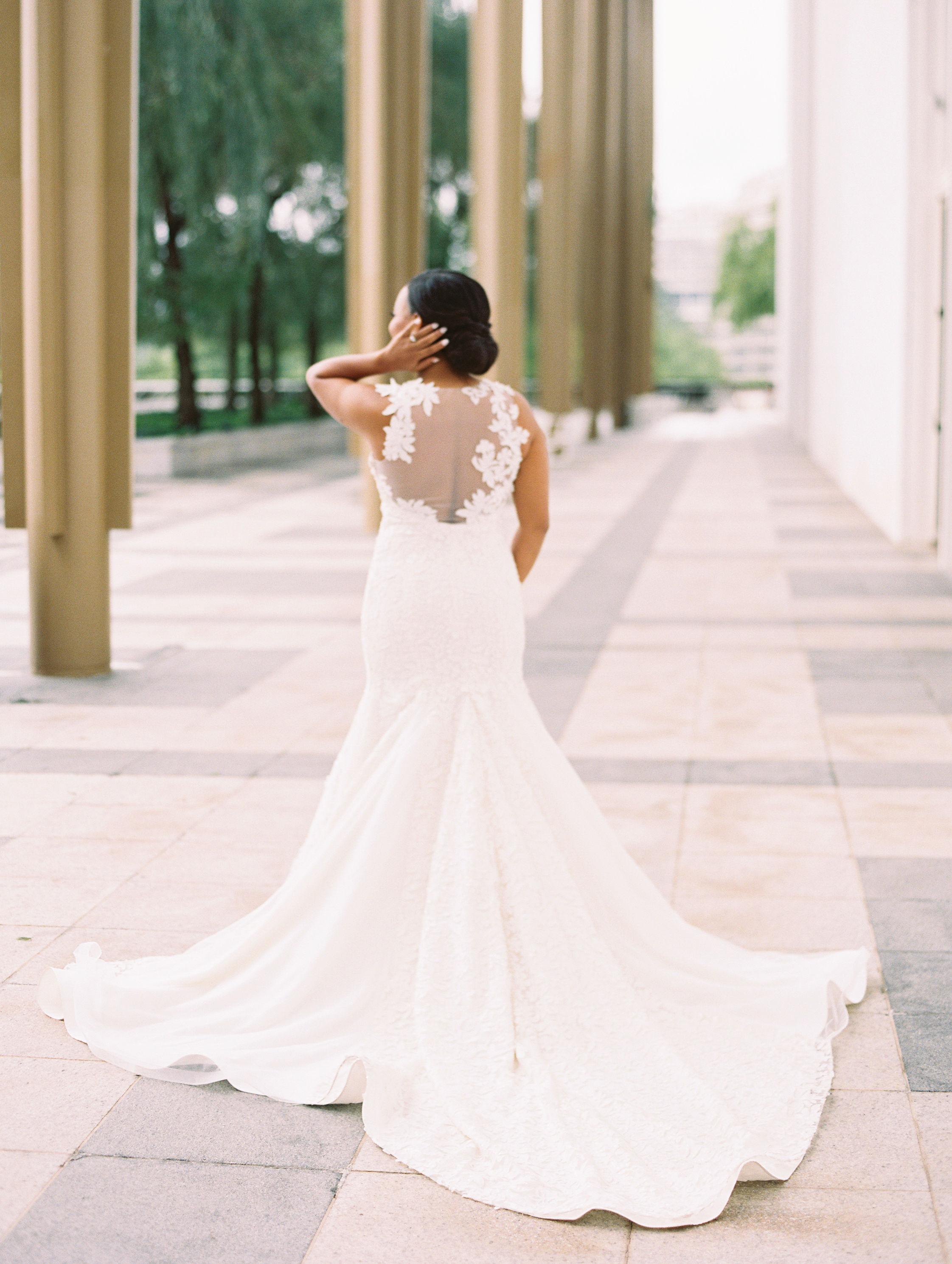 melissa justen wedding bride dress