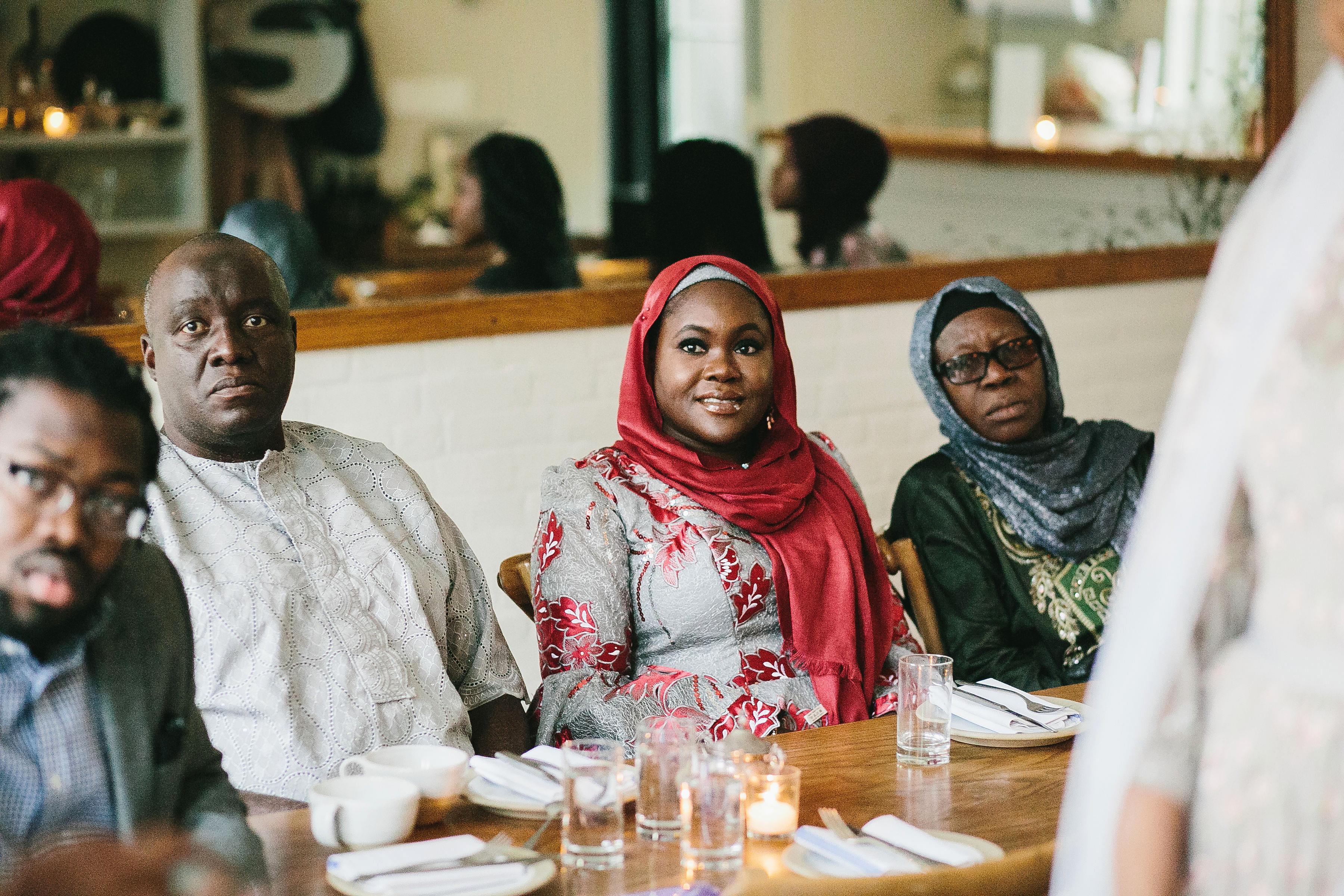 lola quinlan elopement ceremony guests