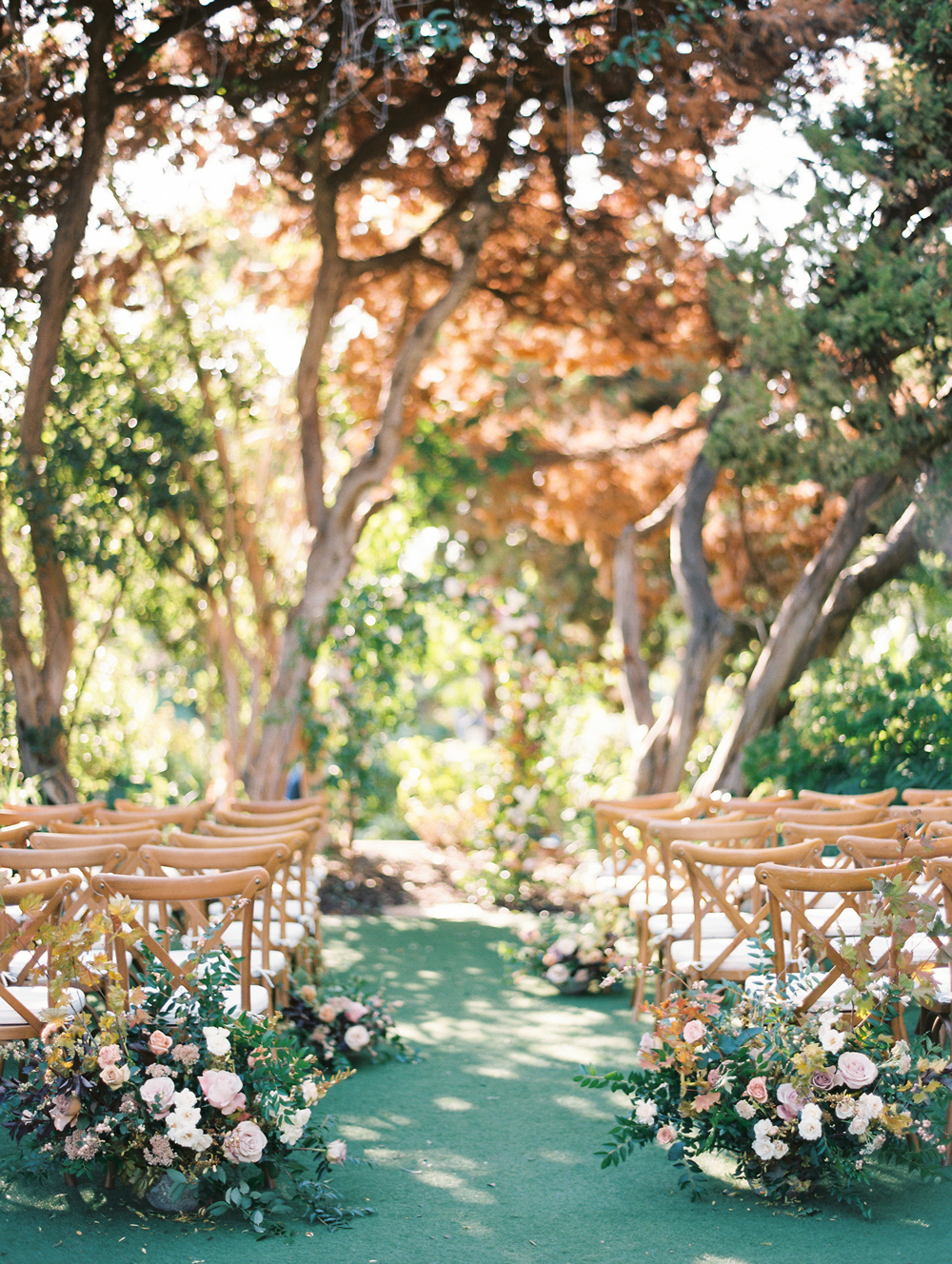 Trending Now: Wedding Ceremony Aisles Lined with Potted Plants