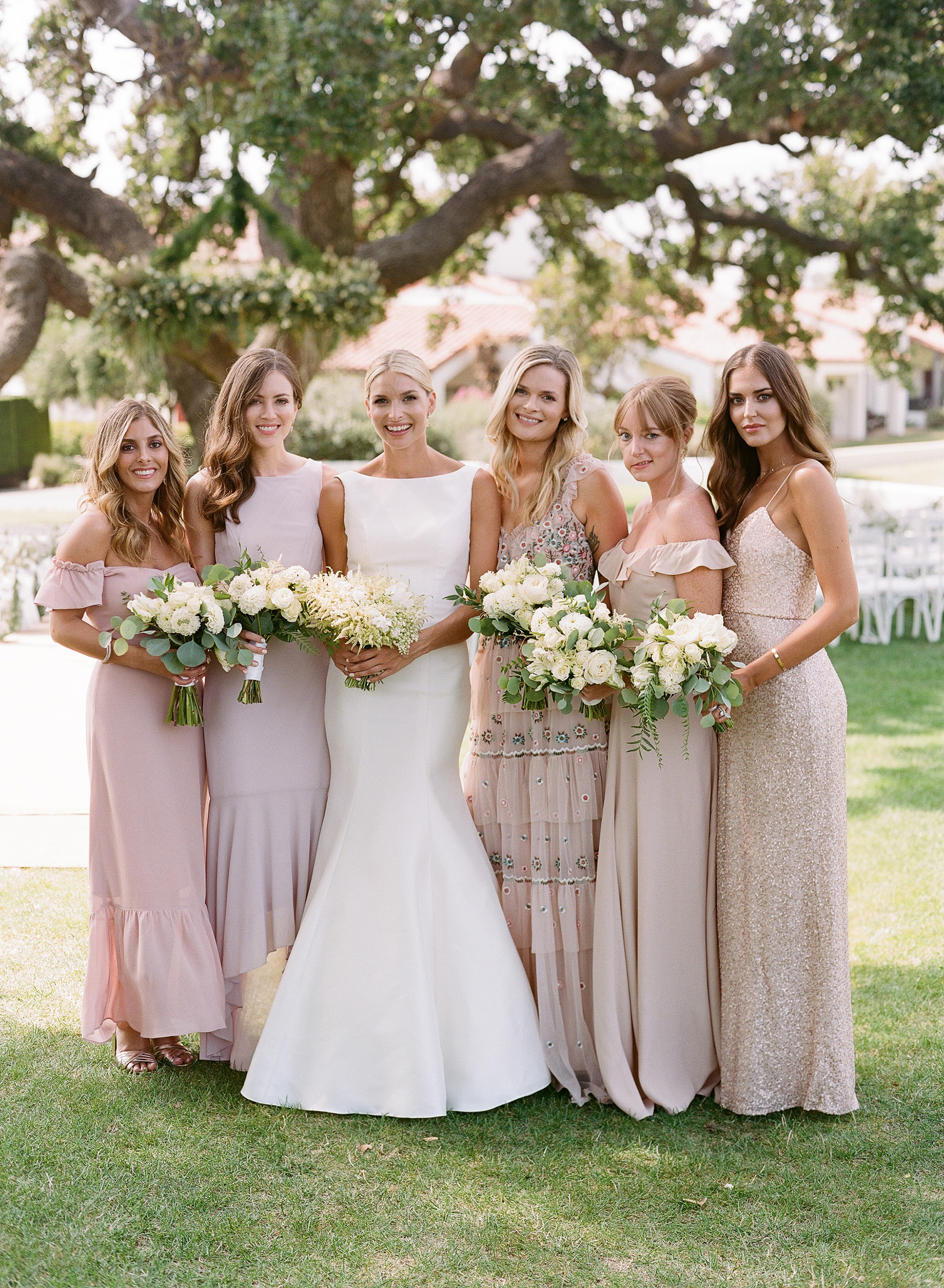 ashlie adam alpert wedding bridesmaids