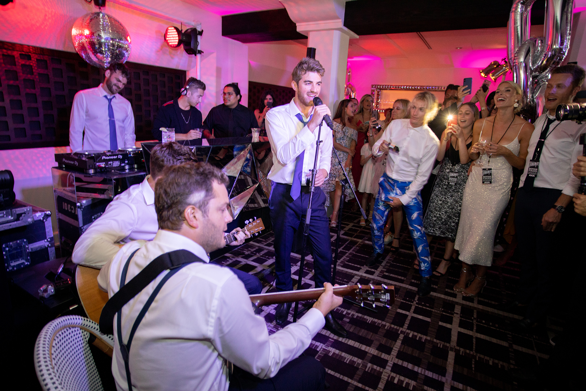 ashlie adam alpert wedding after party chainsmokers