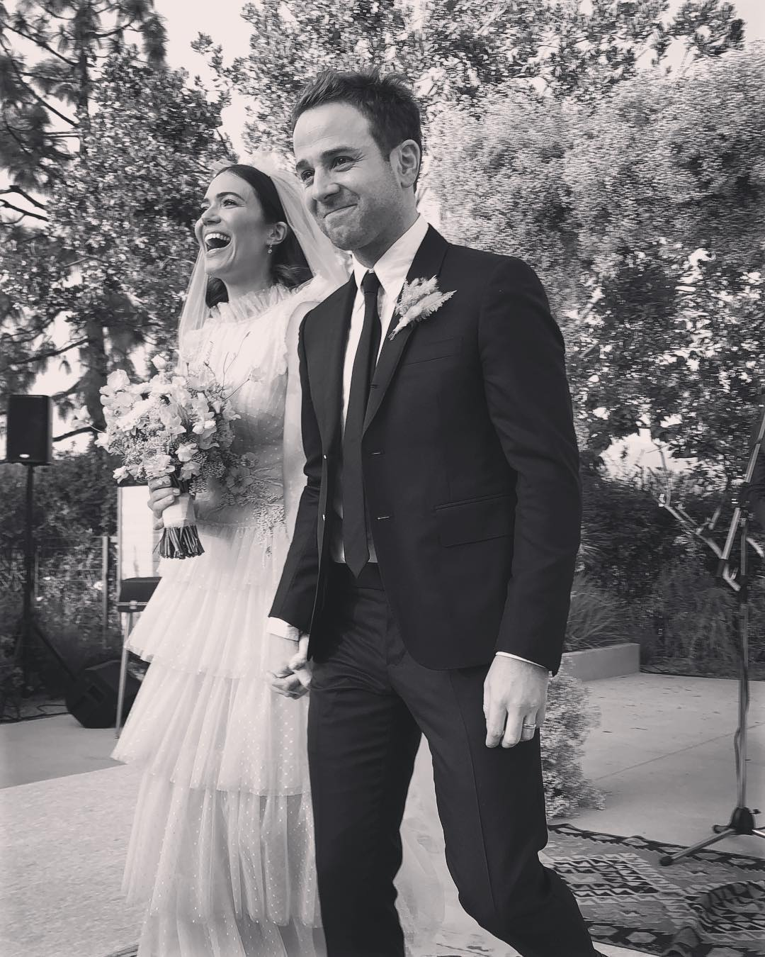 """Mandy Moore Says She Is the """"Luckiest"""" on Her First Wedding Anniversary with Taylor Goldsmith"""