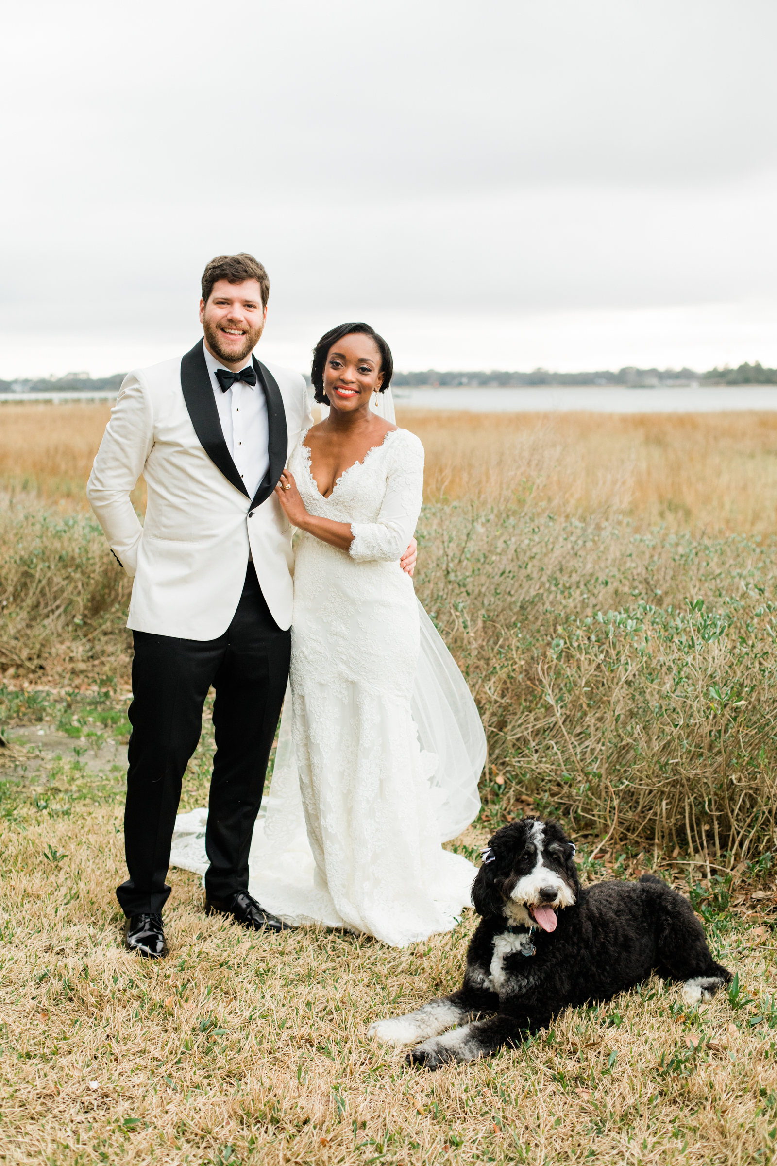 This Couple Planned a Modern, Tented Wedding in Charleston, South Carolina