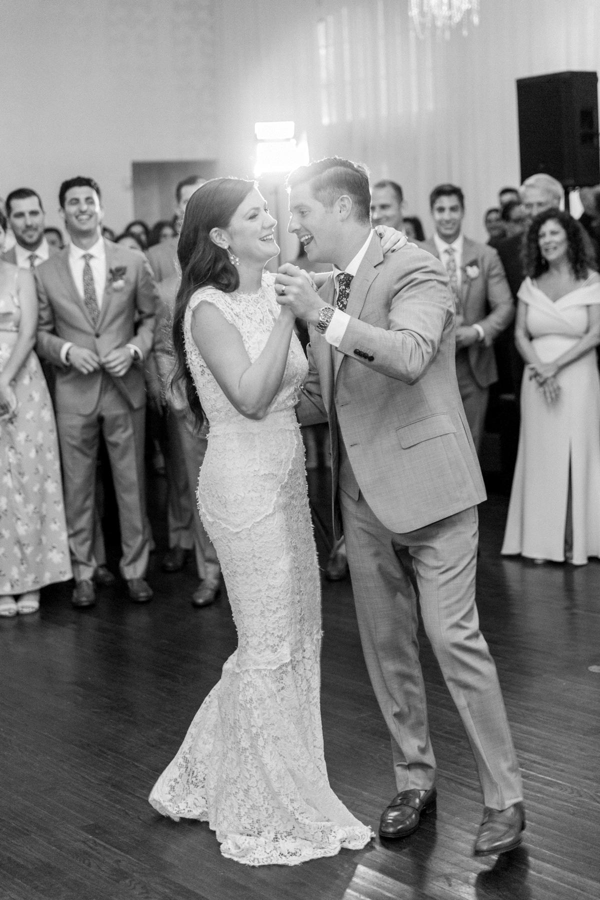 colleen stephen newport wedding first dance