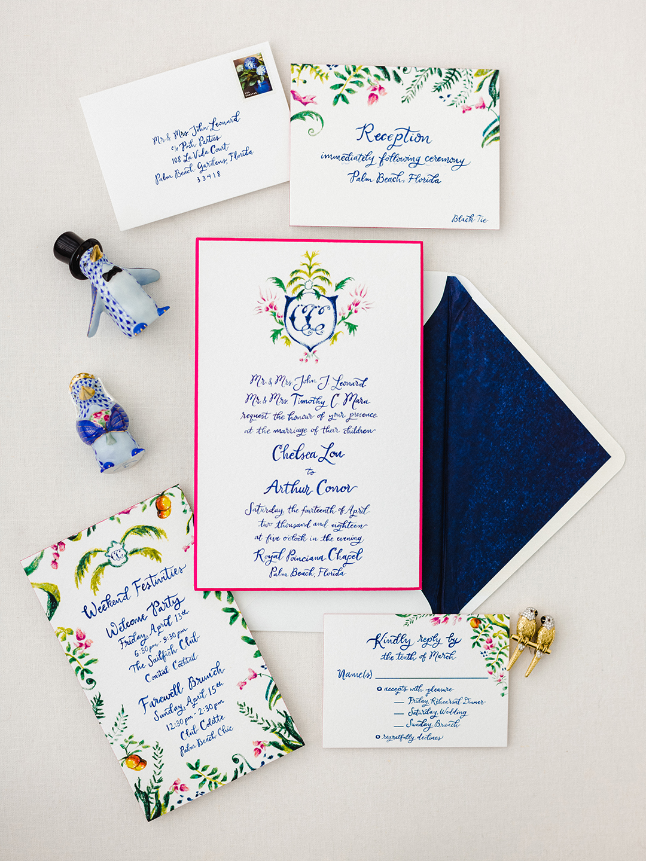 chelsea conor wedding stationary