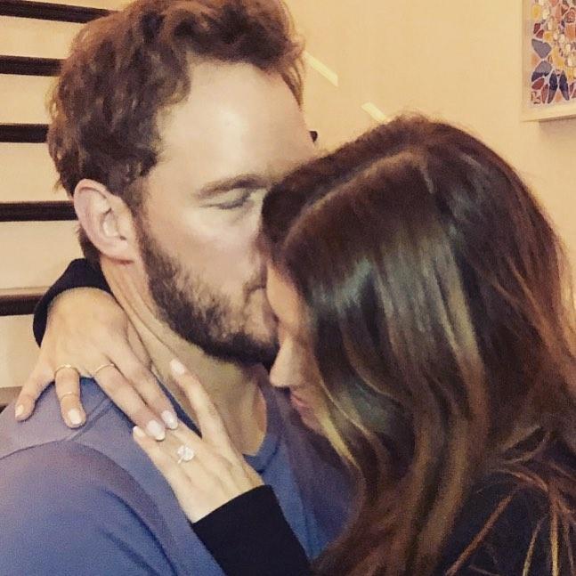 chris pratt and katherine schwarzenegger engaged