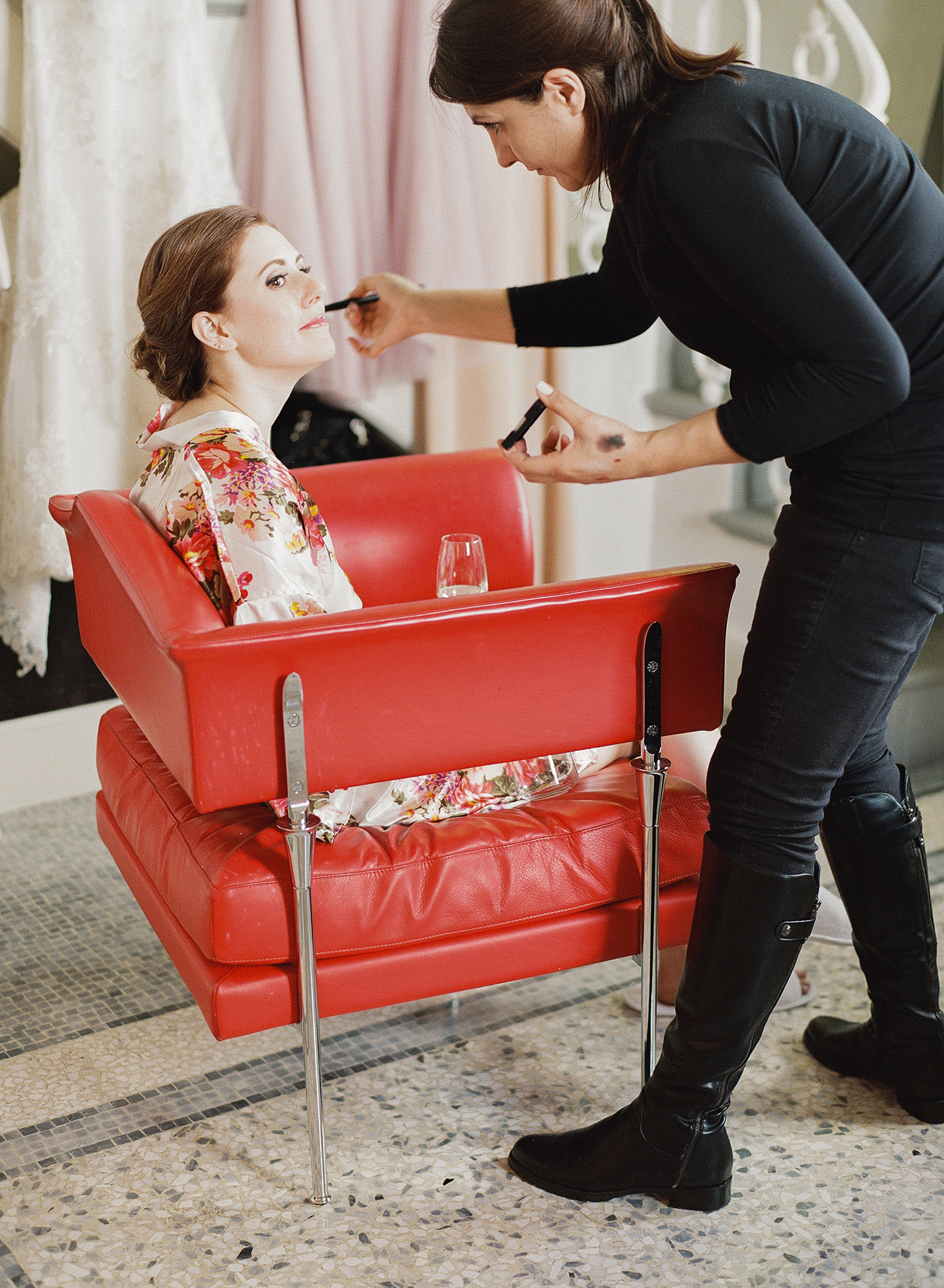This Is Why Your Wedding Makeup Trial Is Also the Best Bridal Therapy