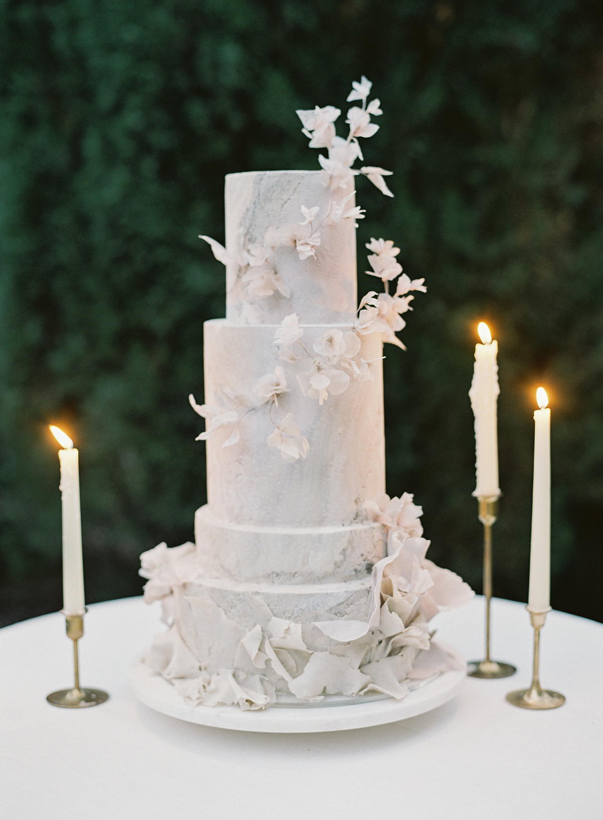 A Trend We're Loving: Wedding Cakes with Micro-Tiers