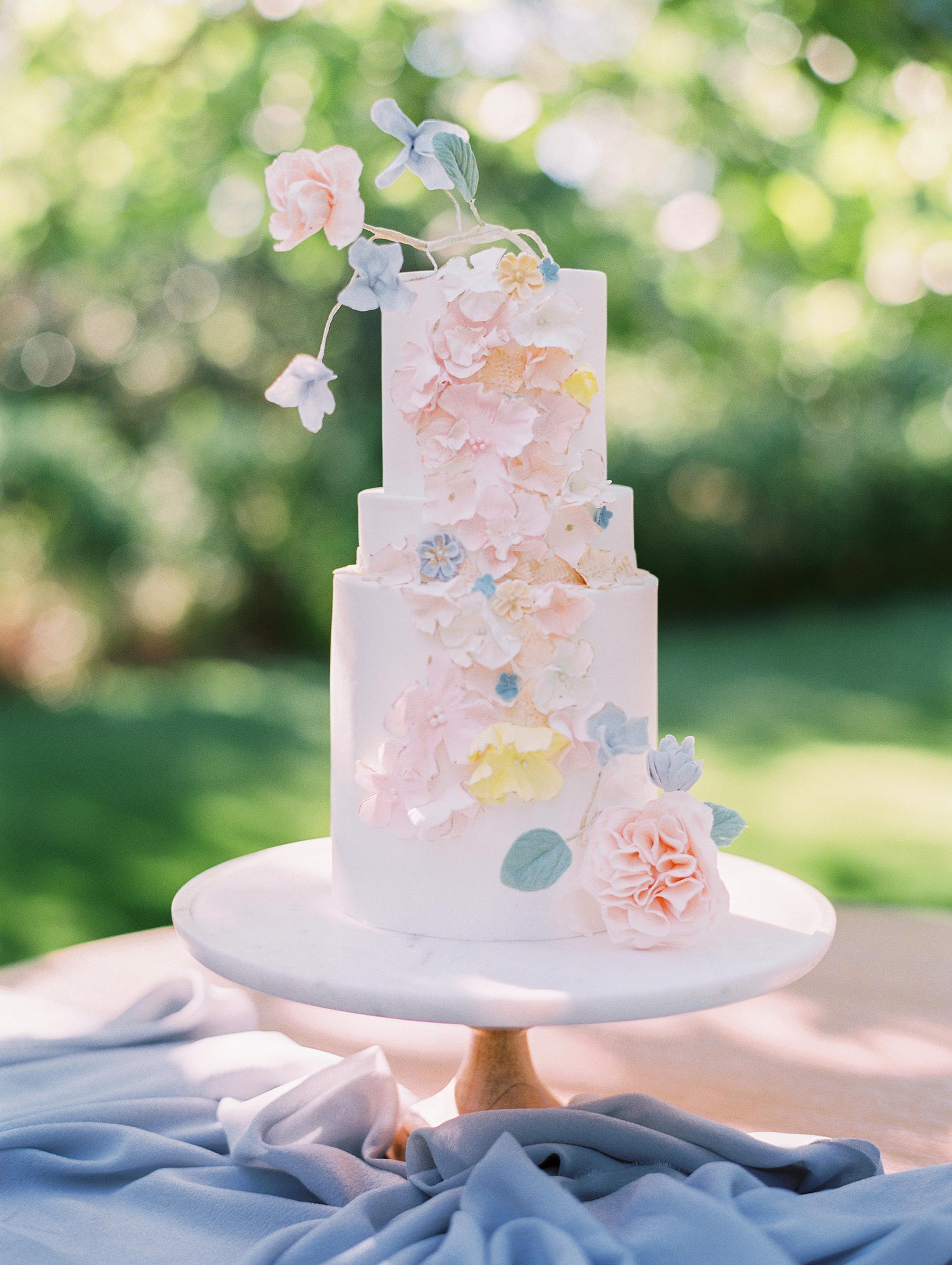pastel wedding cake sally pinera mcakes sweets