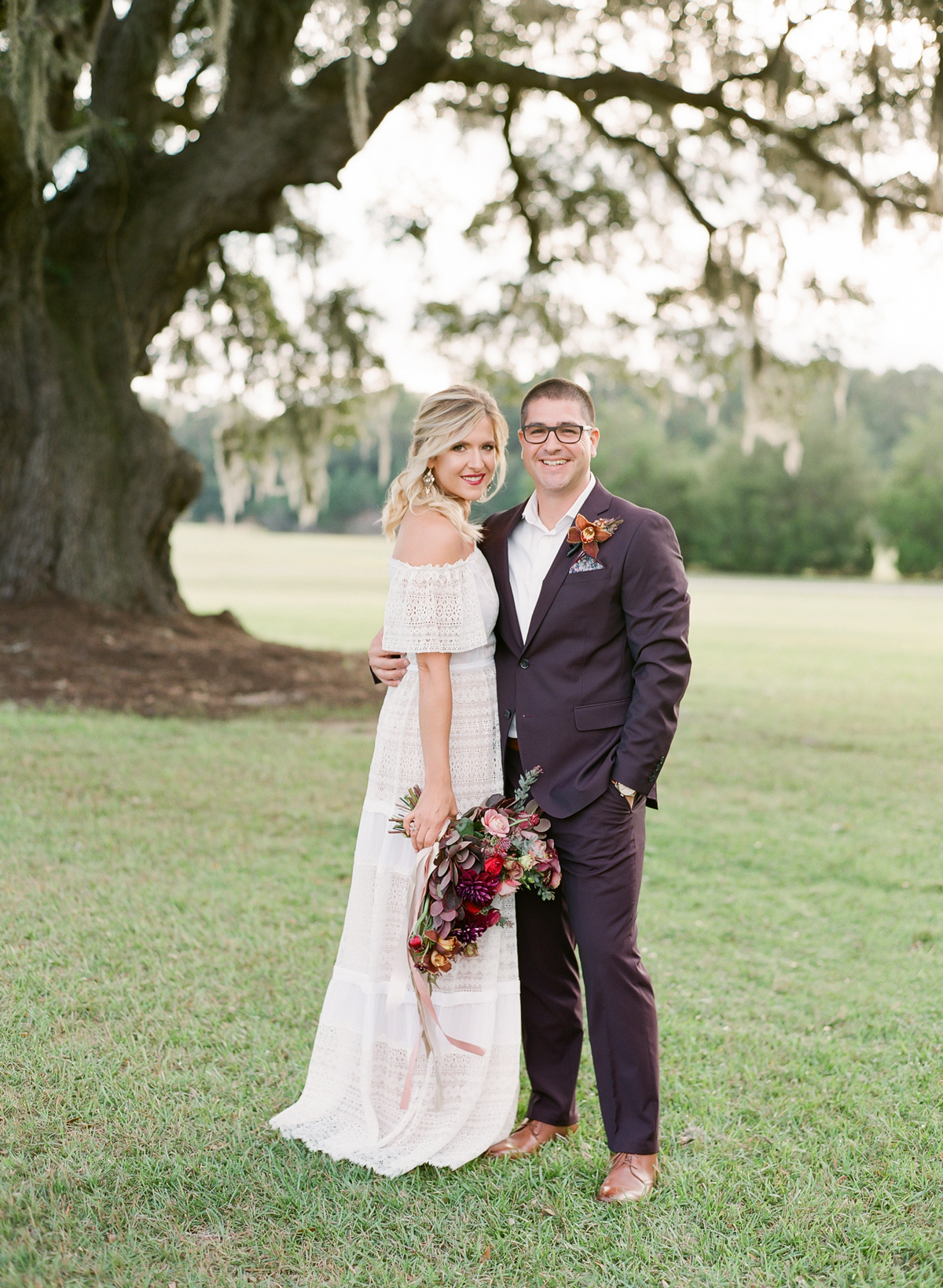 An Elegant, Intimate Vow Renewal Full of Southern Charm