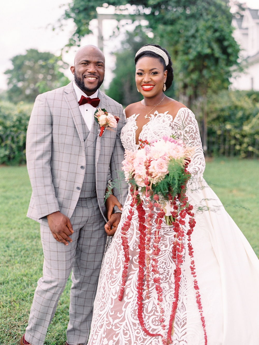 A Nigerian-Inspired Wedding at an Estate in Reva, Virginia