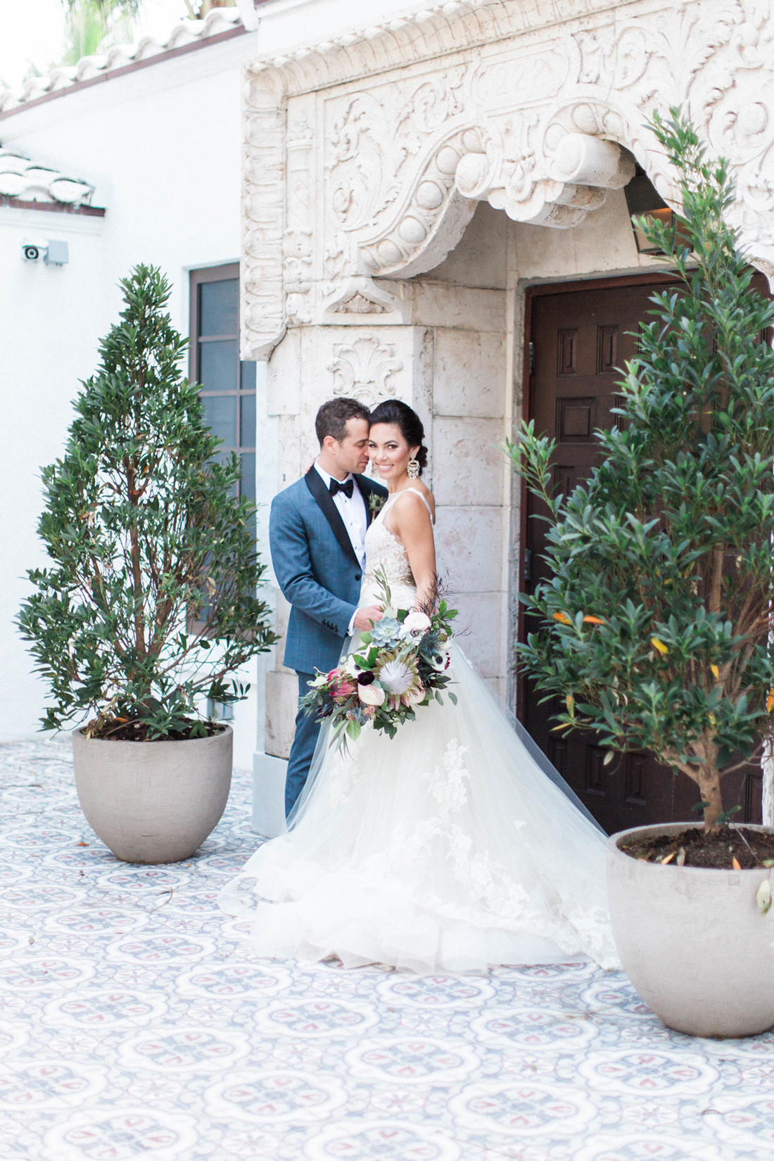 A Stylish, Bohemian Garden Wedding in Miami Beach