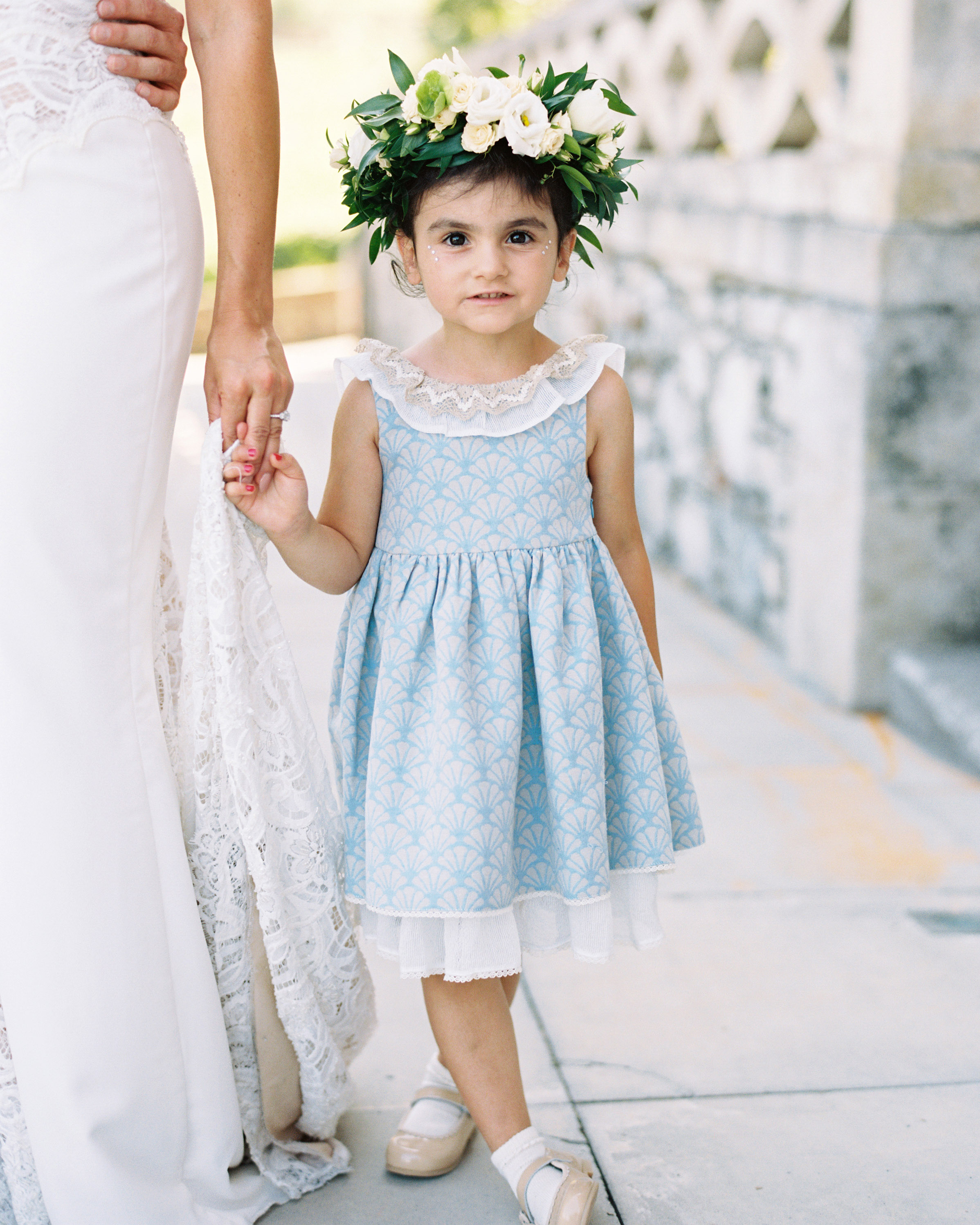 jeannette taylor wedding portugal flower girl