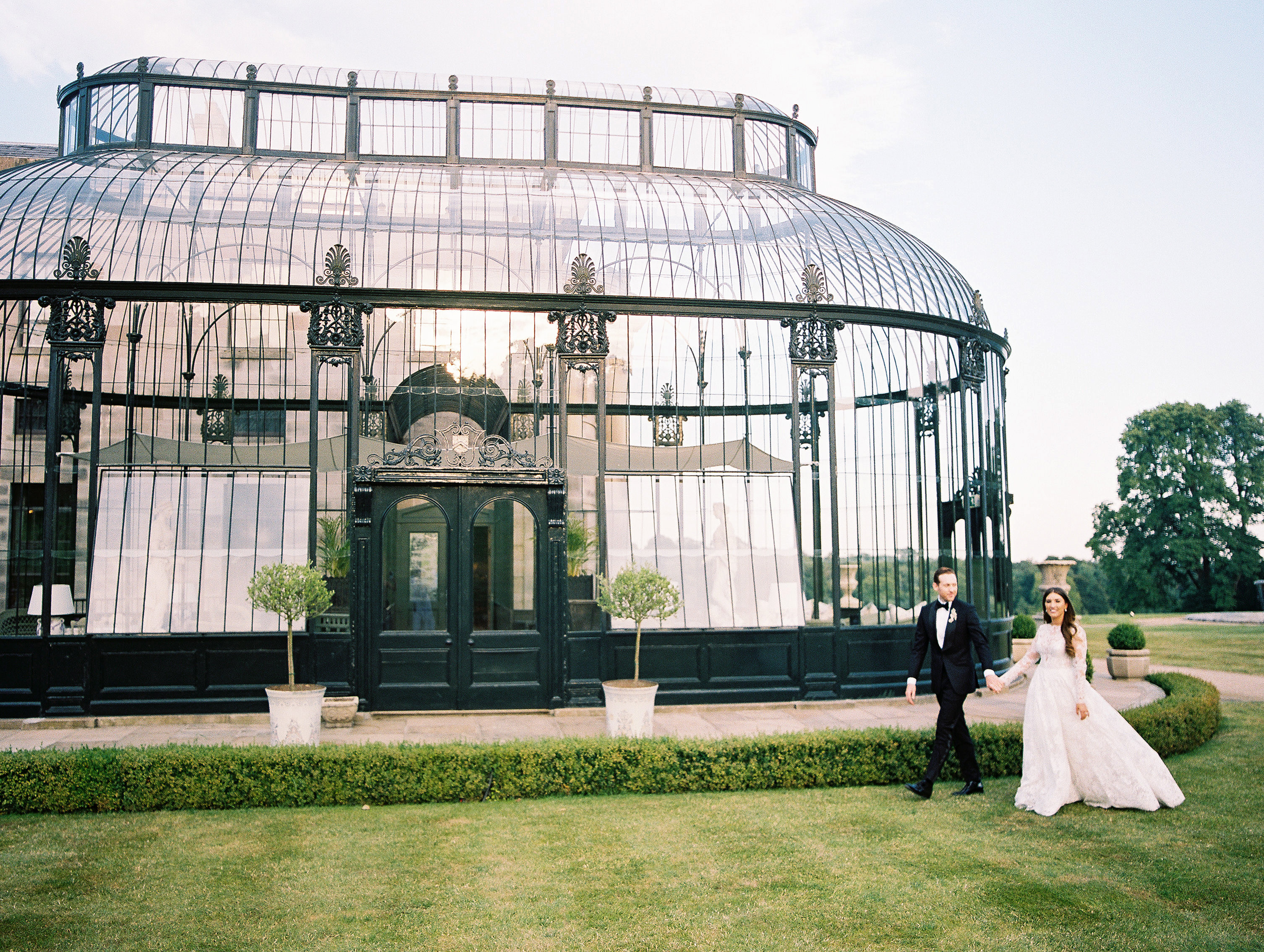 ramsey charles ireland wedding couple irish building