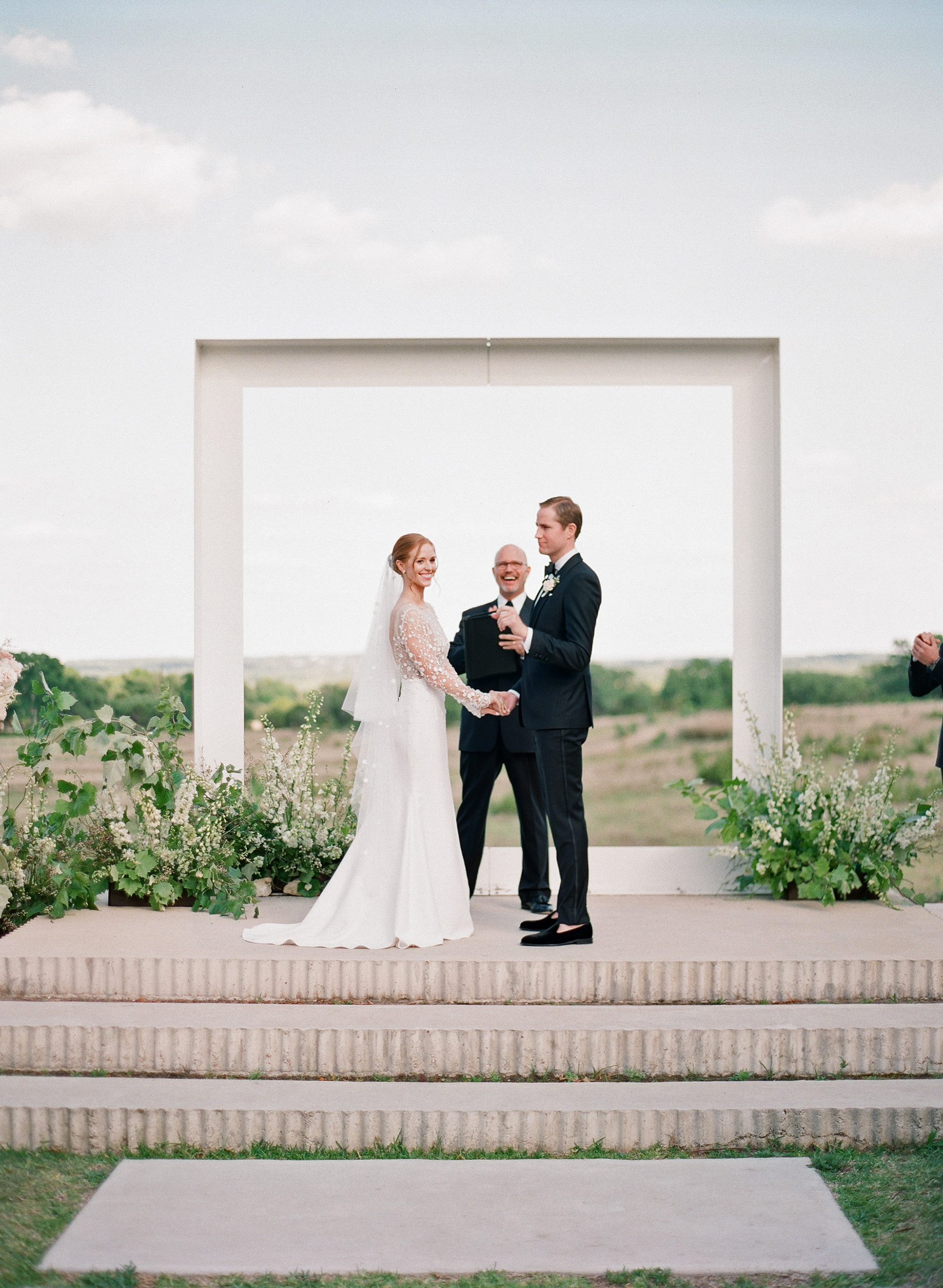 One Couple's Black-Tie Wedding in Texas Hill Country
