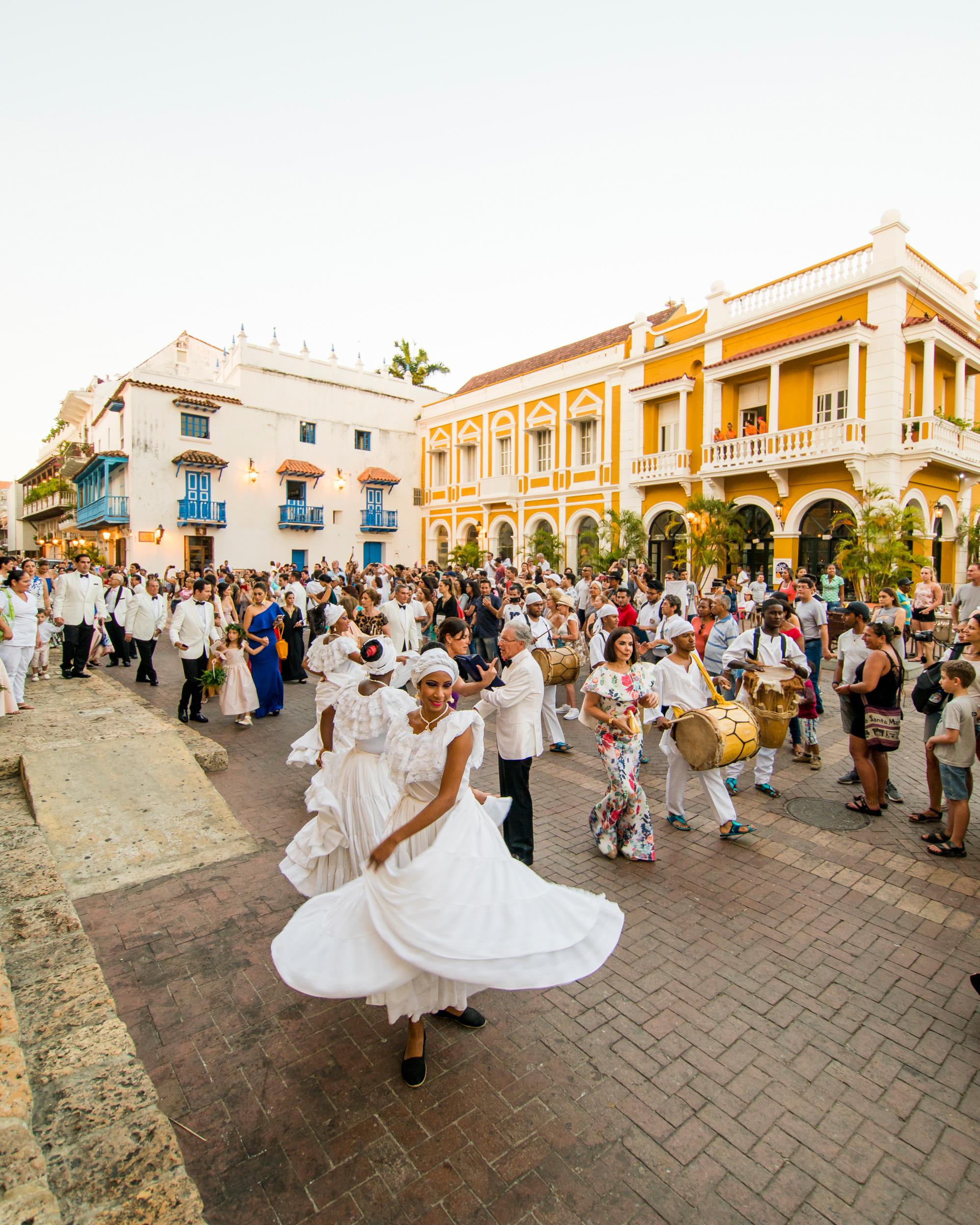 cristina andre wedding dancers
