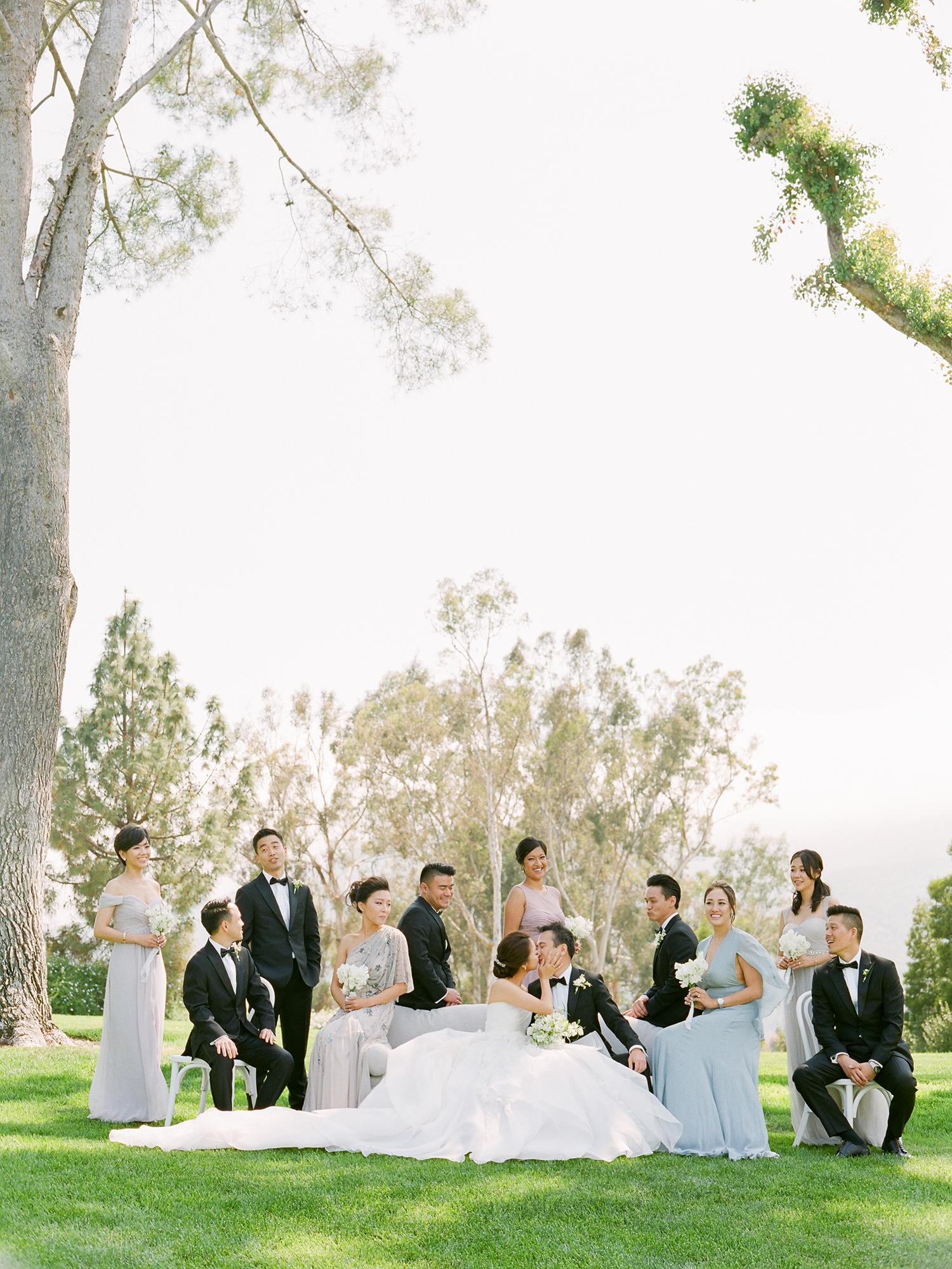 grace ceron wedding wedding party