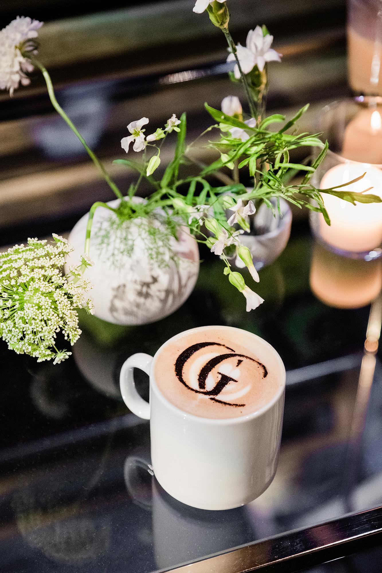 grace ceron wedding latte monogram
