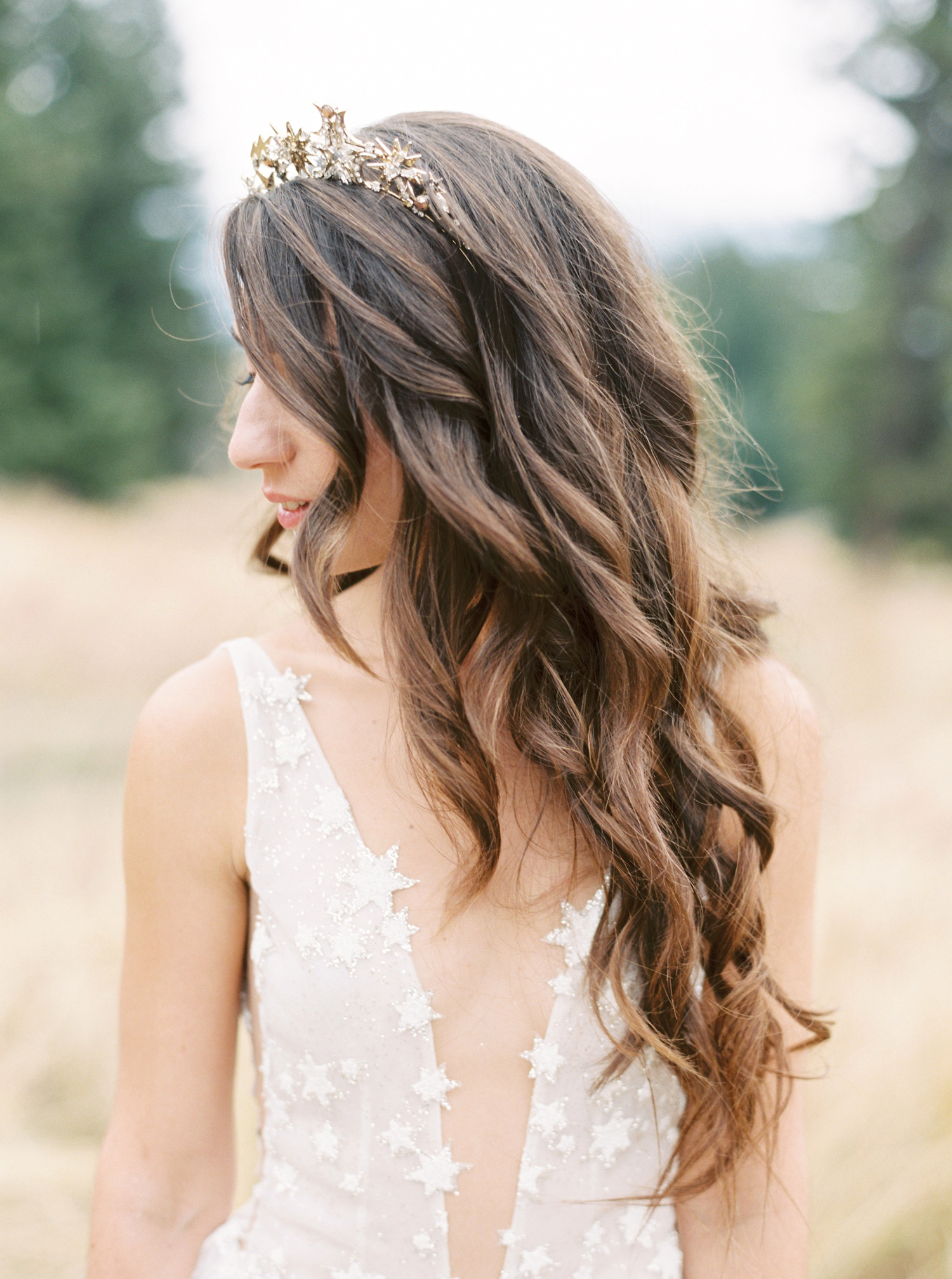 A Celestial-Inspired Wedding on a Mountaintop in Big Sky