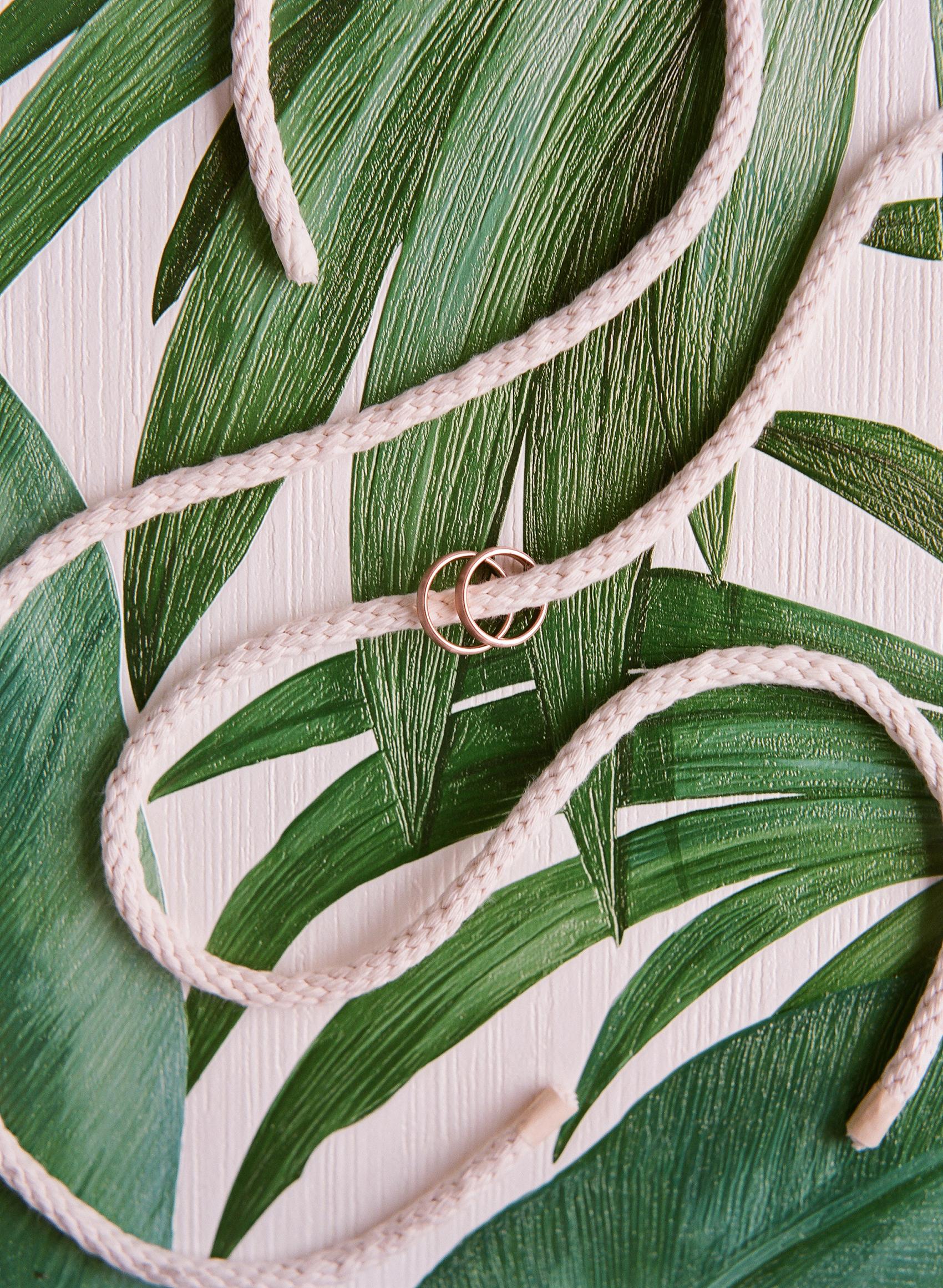 garrett and sean wedding rings rope