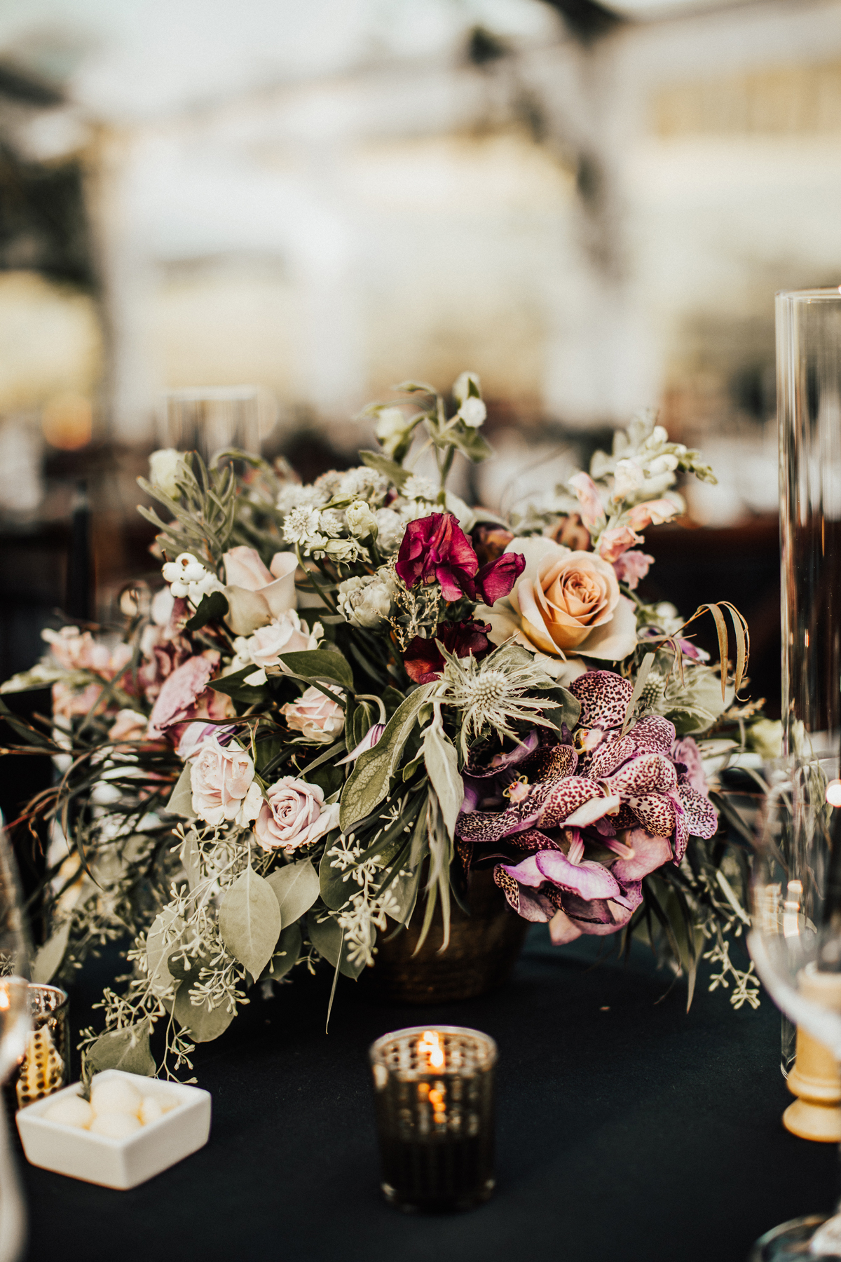 A Moody, Gothic-Inspired Wedding in a Vermont Birch Grove