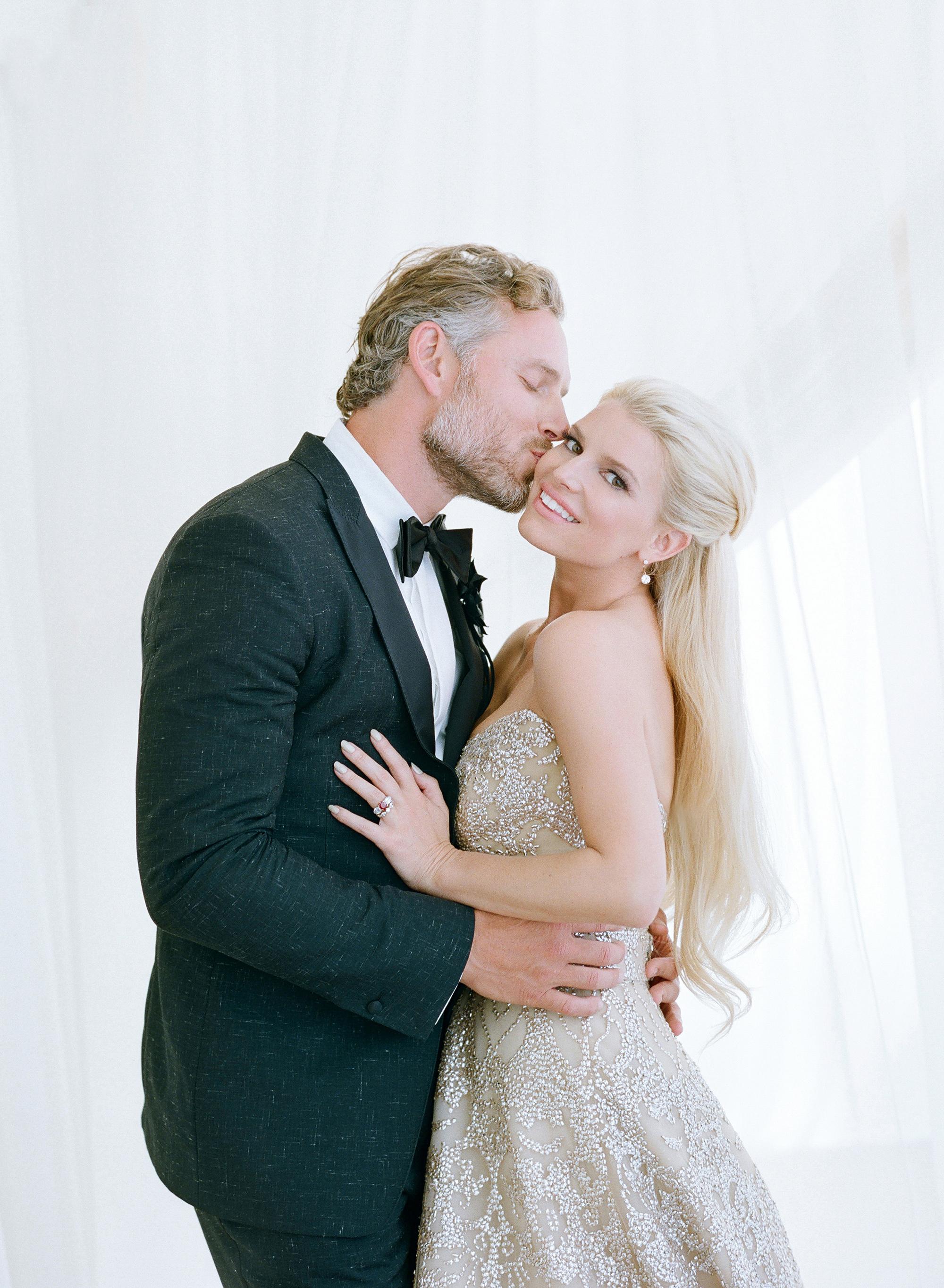 jessica simpson and eric johnson wedding