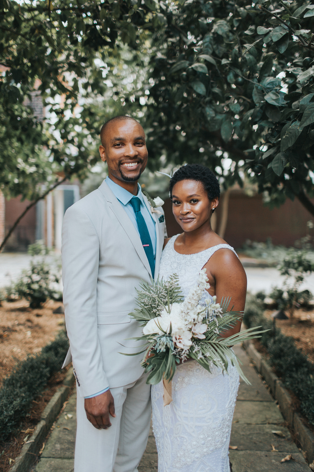 An Intimate New Orleans Wedding on a Hot Summer Day