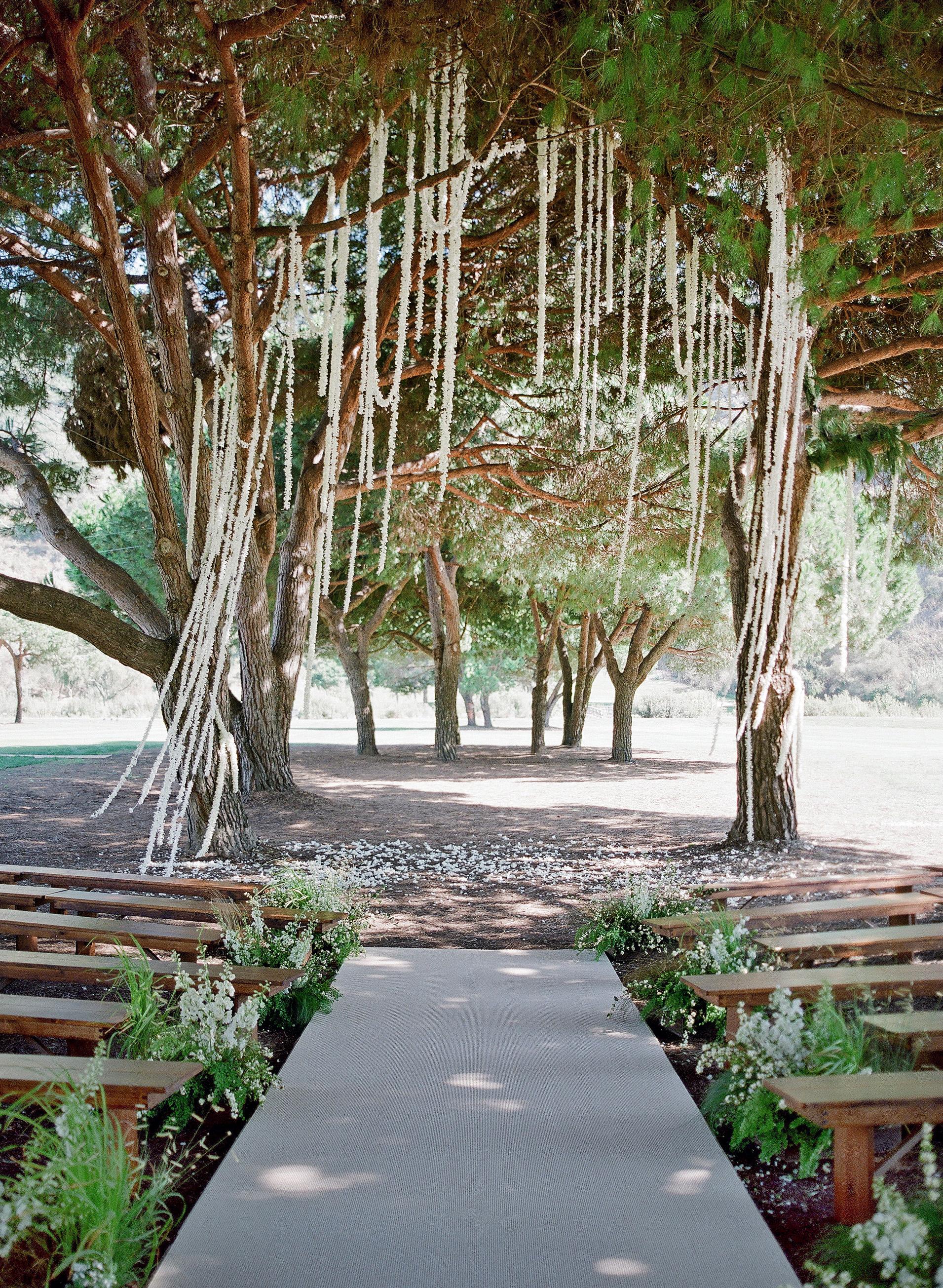 alex drew california wedding outdoor ceremony space