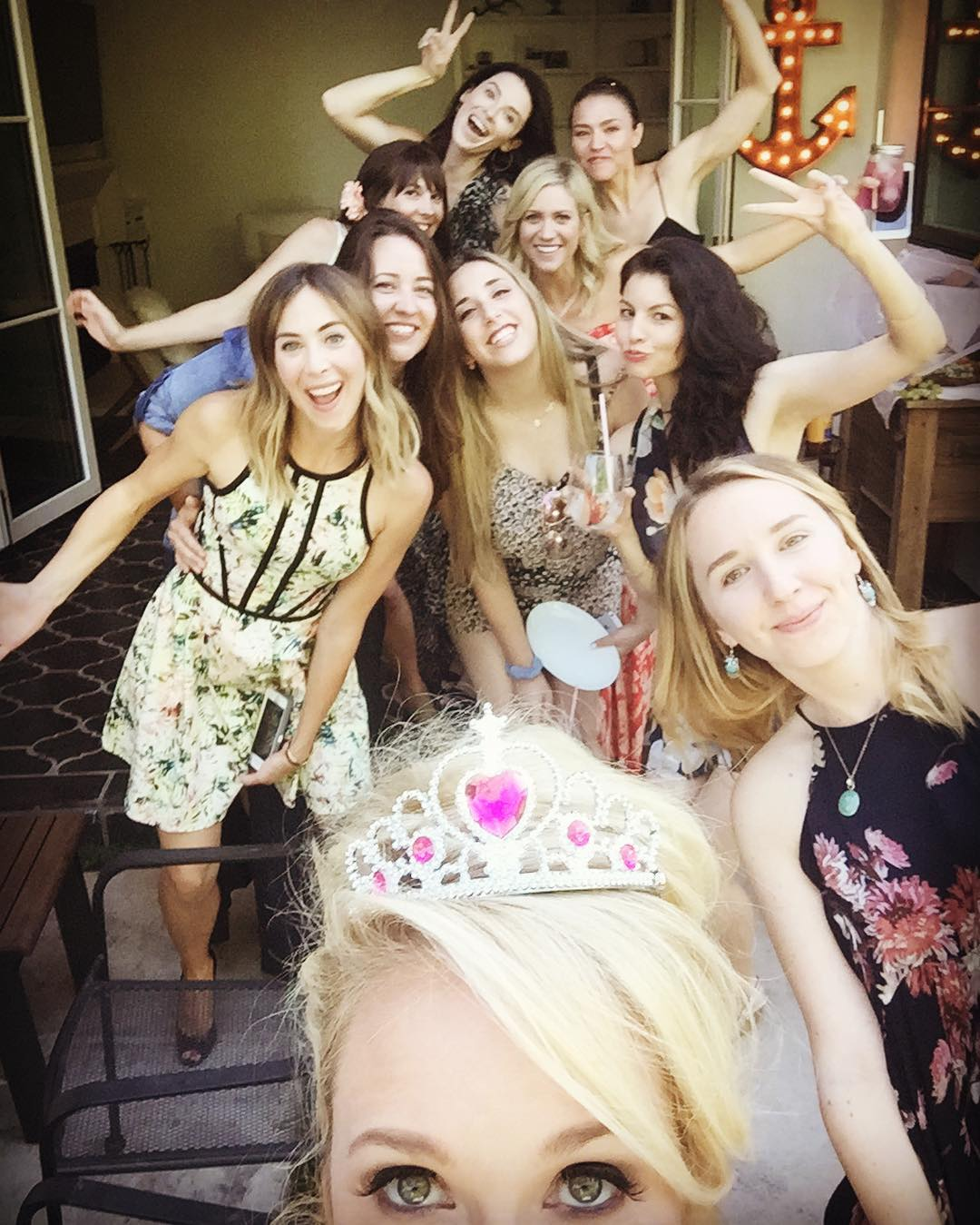 anna camp bridal shower guests