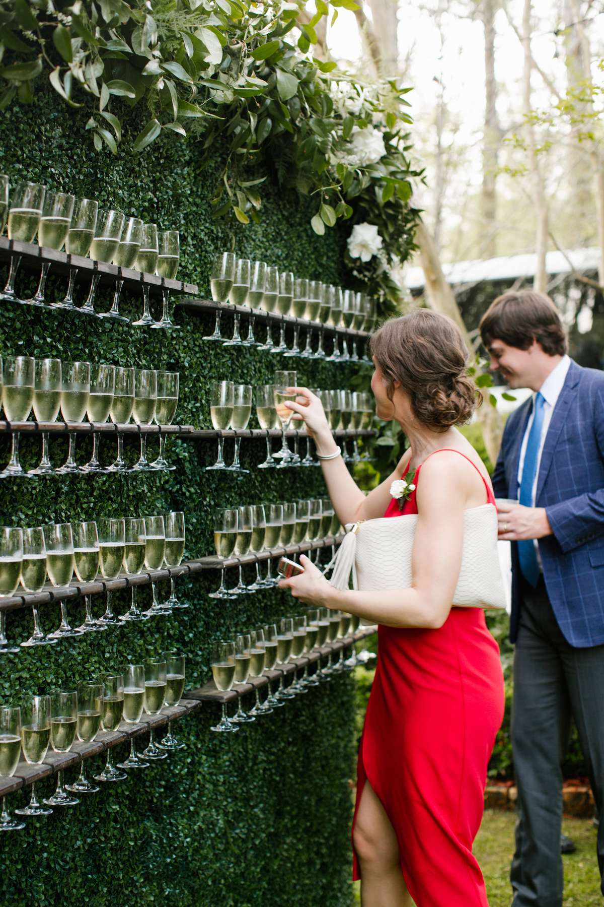 A Wedding Trend We Re Loving Living Walls Martha Stewart Weddings