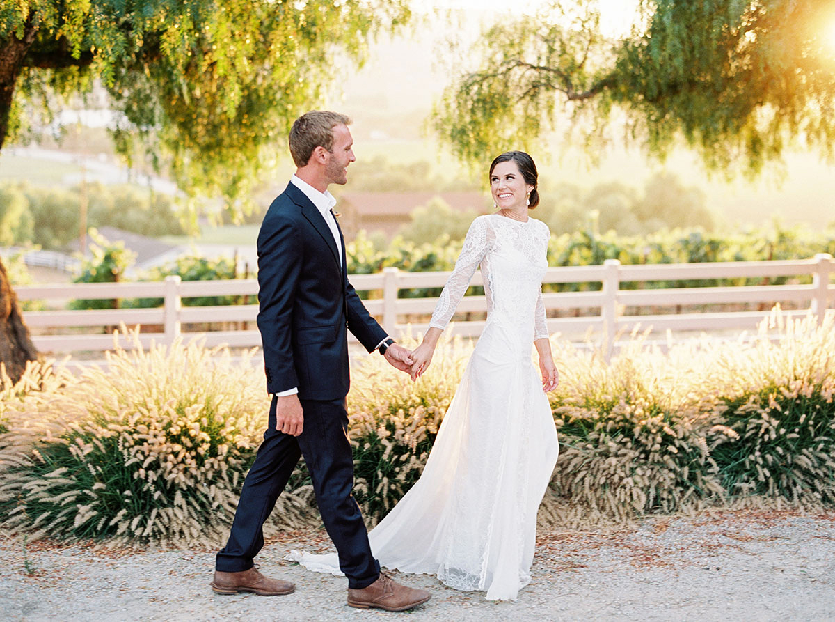 A Bohemian Summer Wedding in California's Wine Country