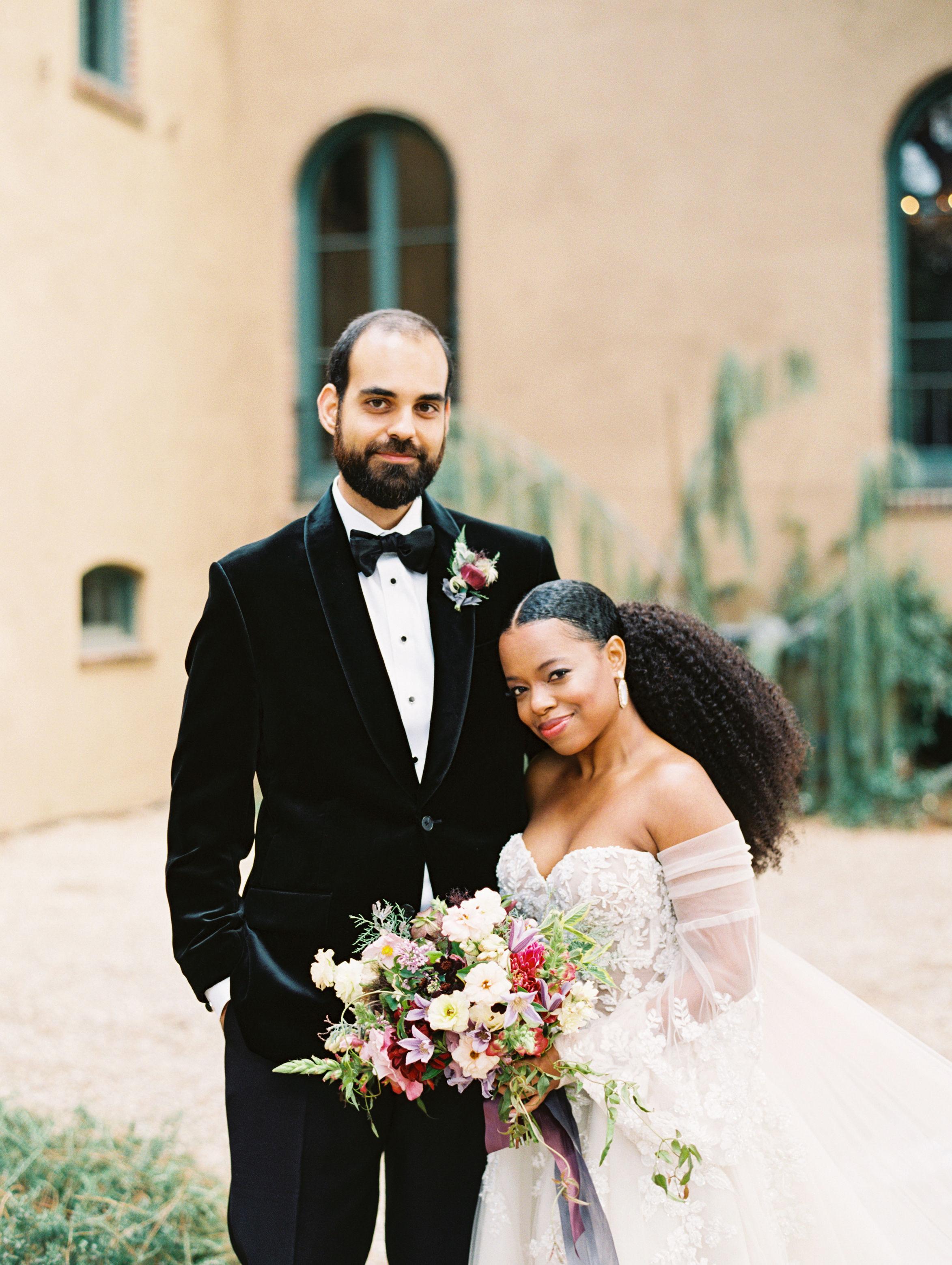 An Edgy Garden Wedding in Los Angeles