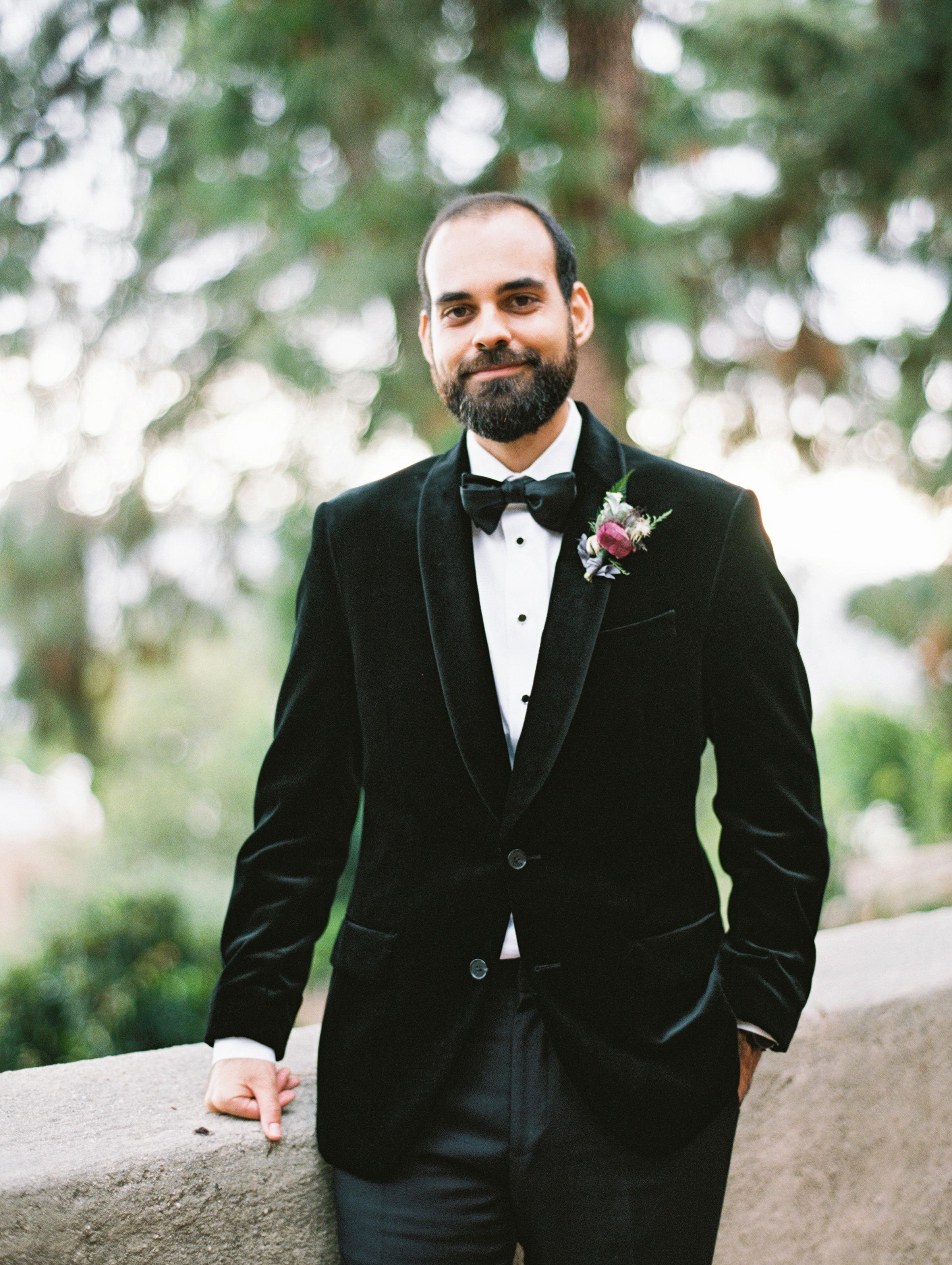 jamie and michael wedding groom suit