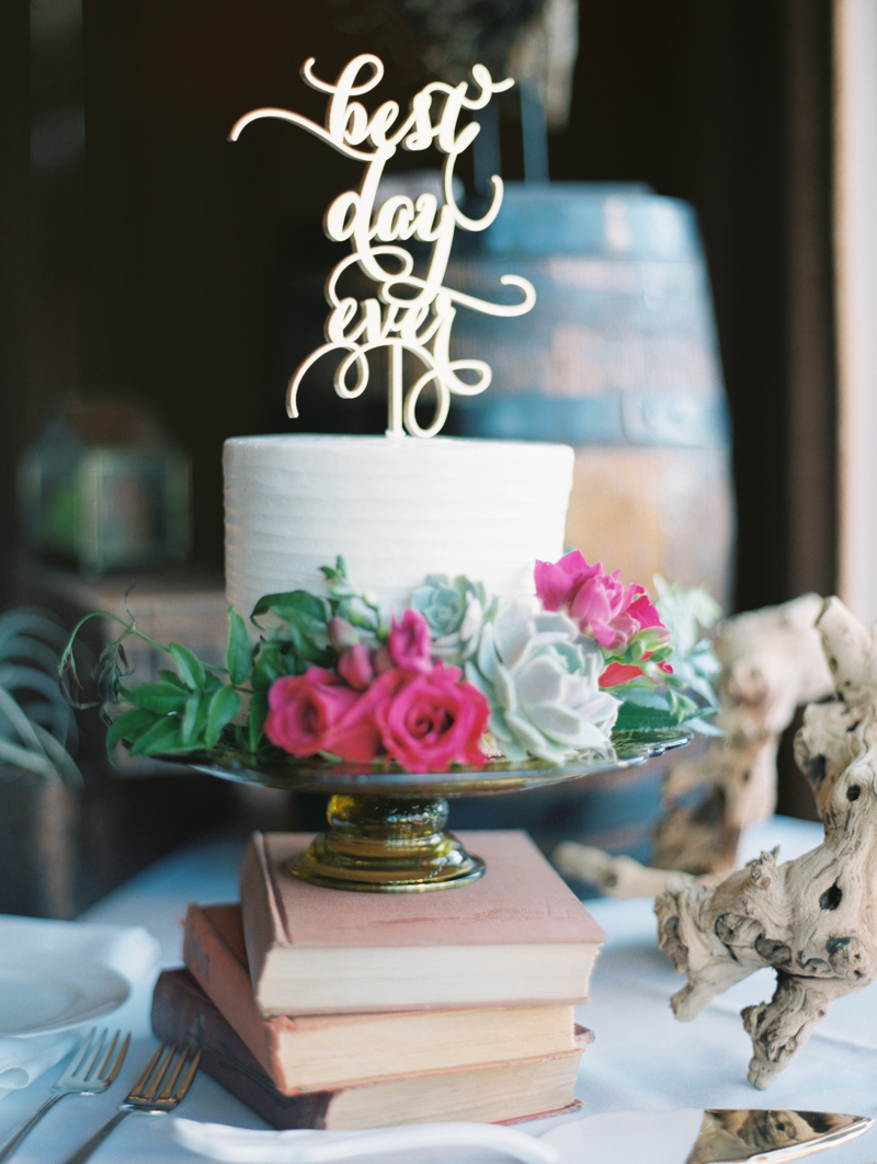 Laser-Cut Wedding Cake Topper