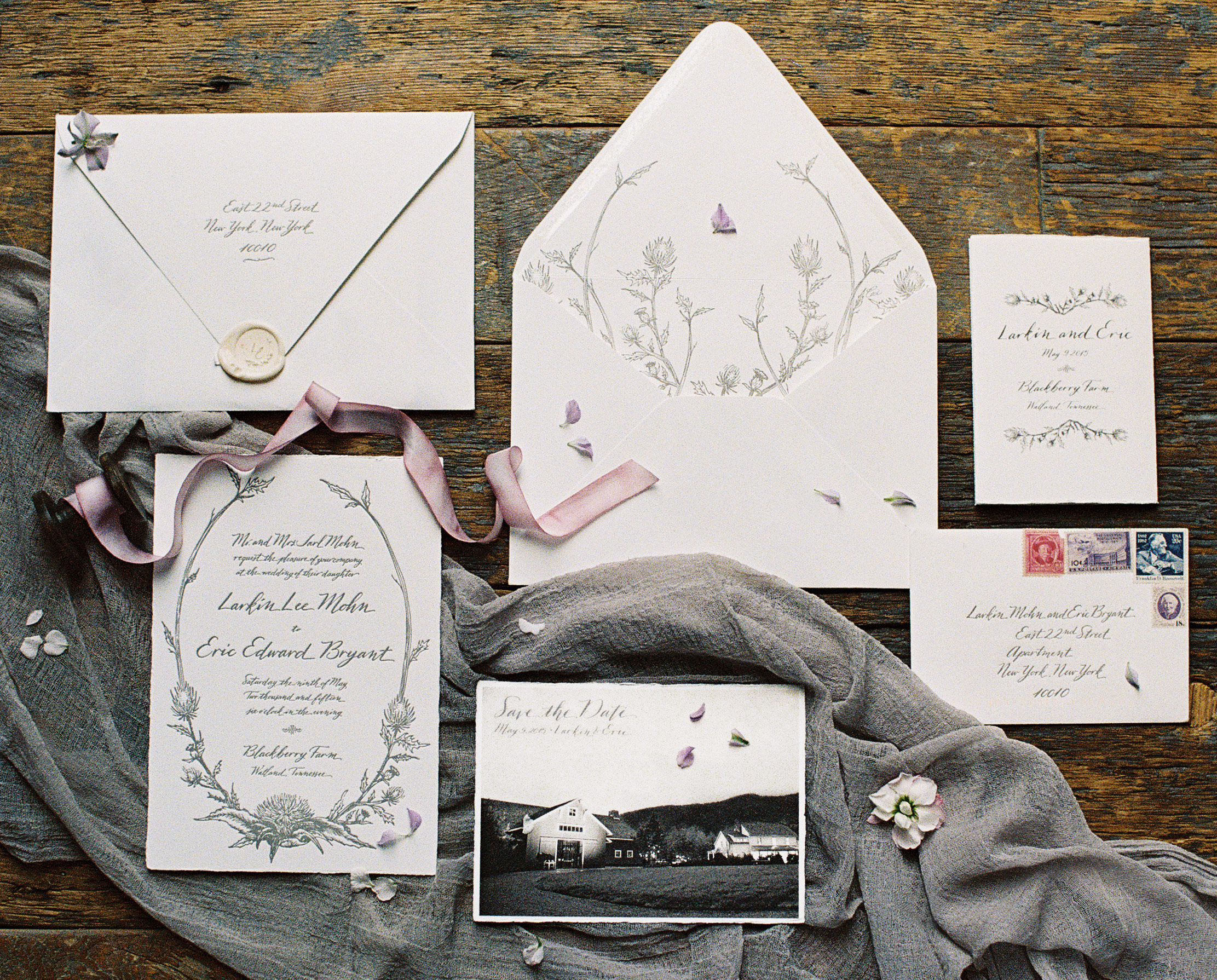Here's What to Do If You Don't Have Enough Time to Have Your Invitations Calligraphed