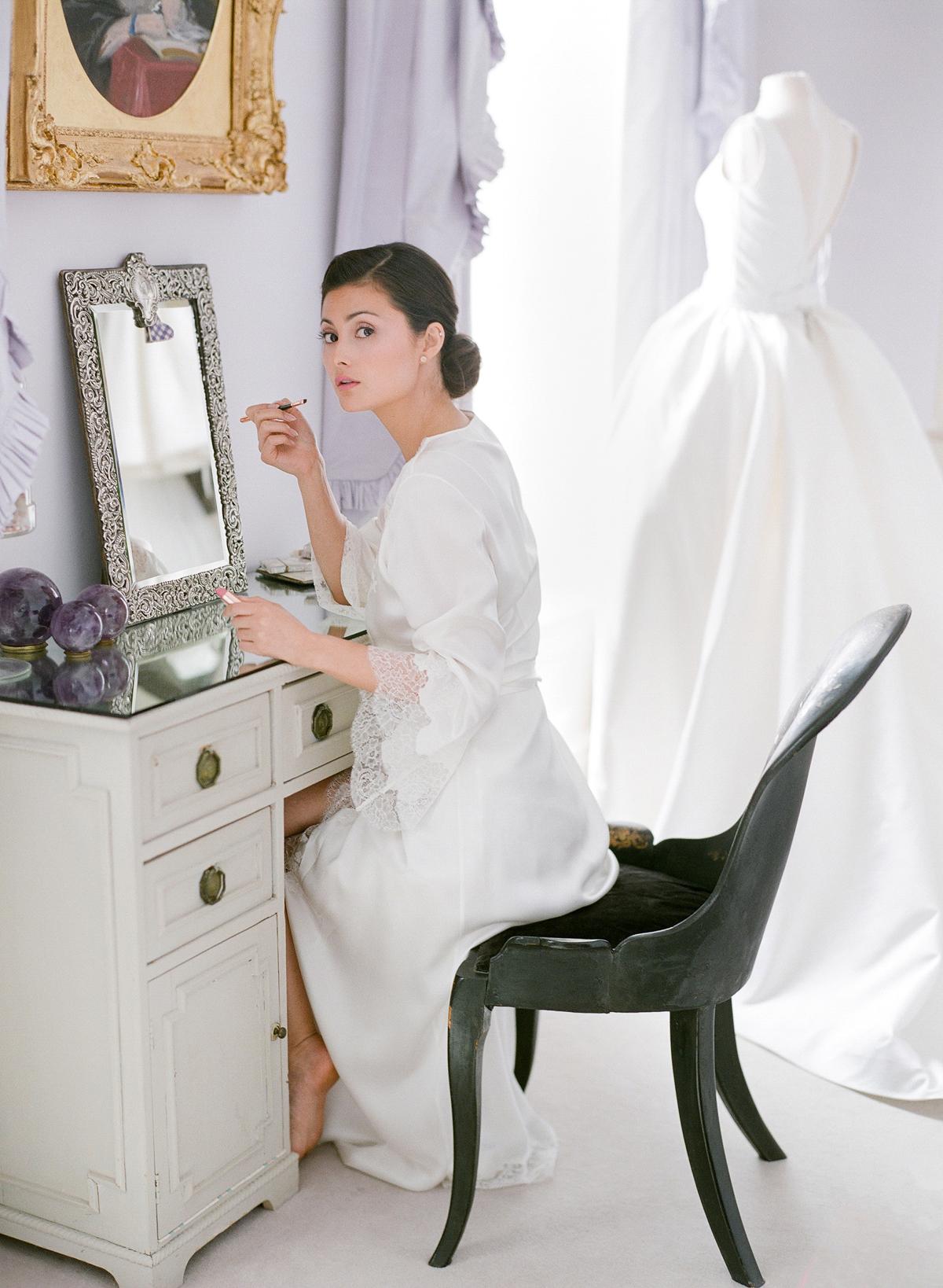 peony matthew england wedding bride getting ready