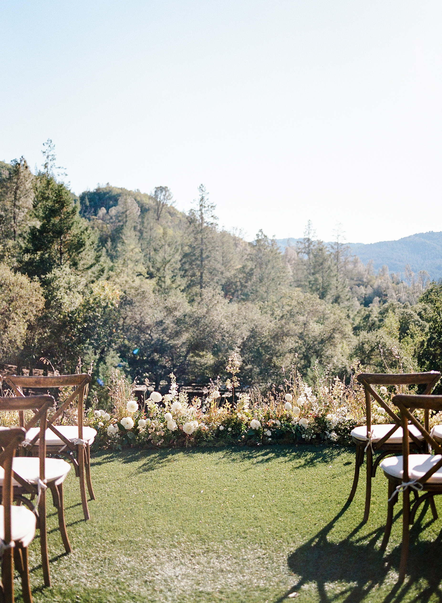 cristina chris wedding ceremony outdoor site