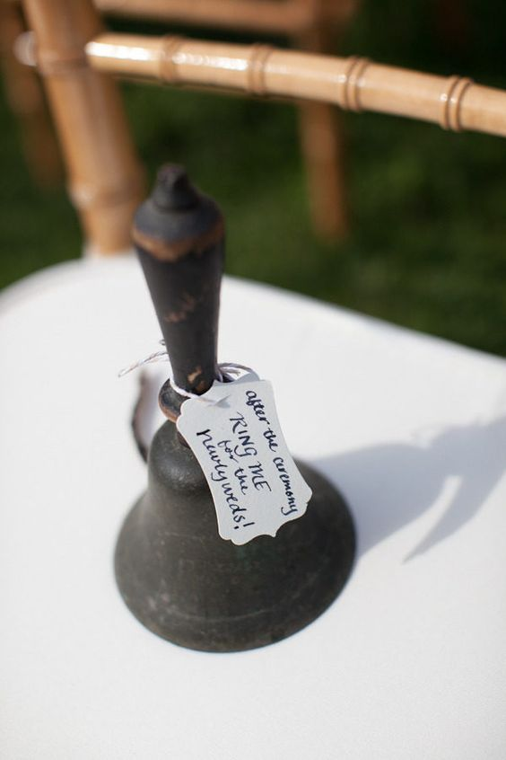 Family Heirloom wedding bell