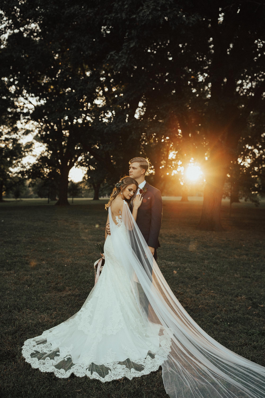 sheer bridal cape