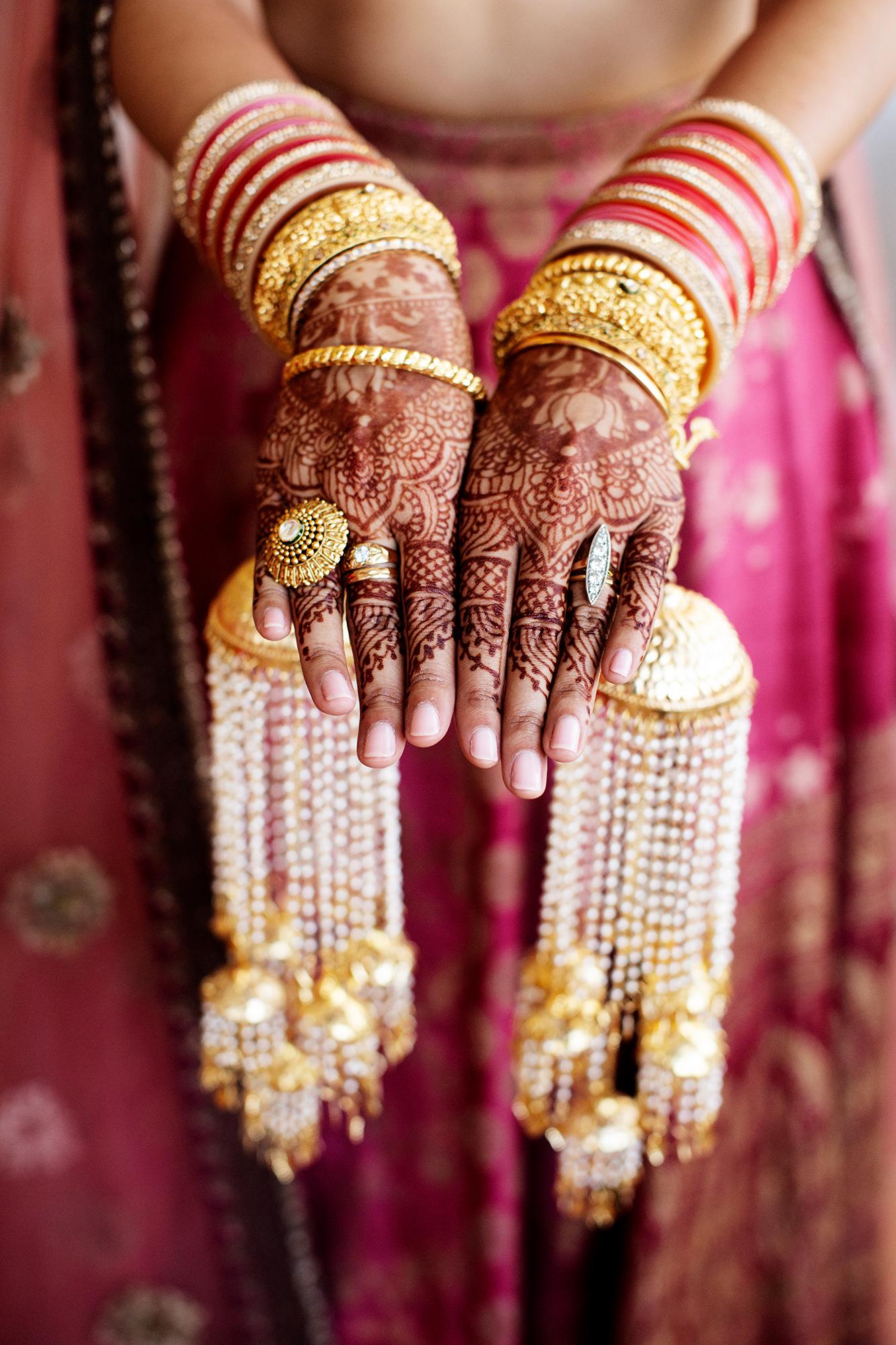 ellora and ishan wedding bride henna