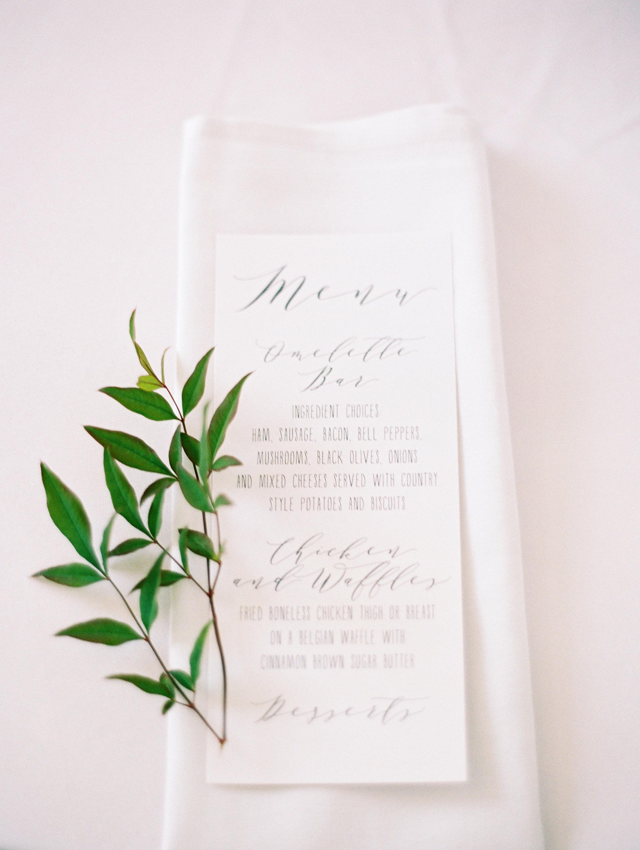shakira travis wedding reception menu