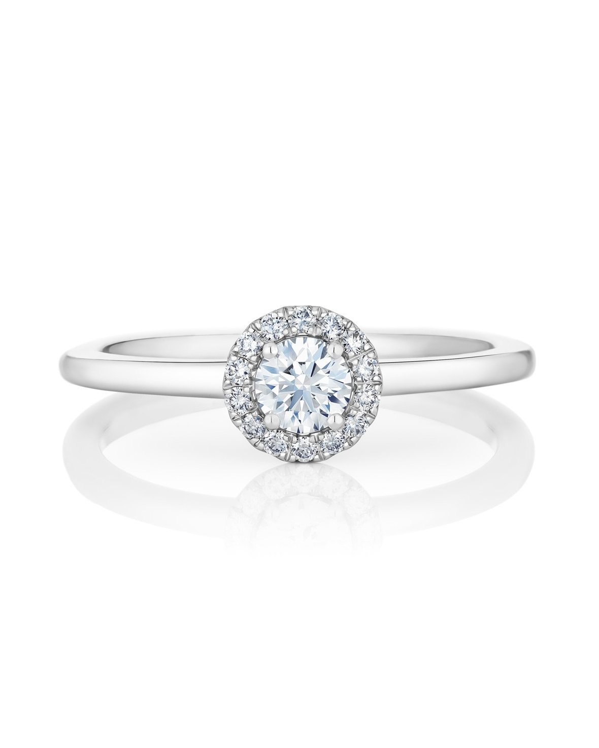 "De Beers ""My First Debeers ""Aura"" Solitaire Ring"