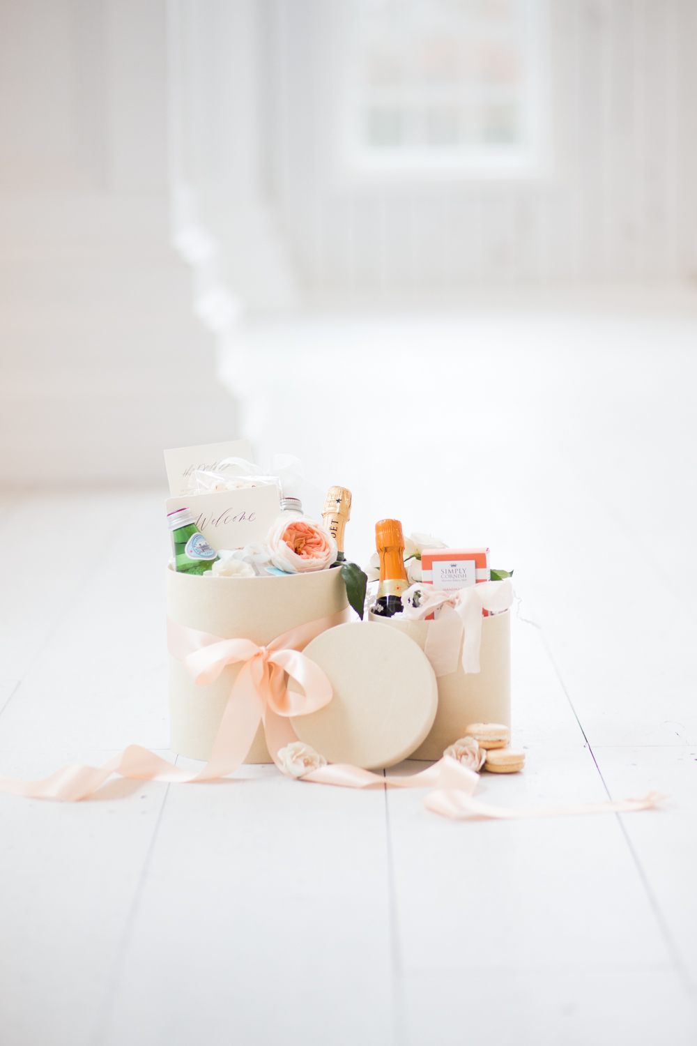 ballet themed welcome box